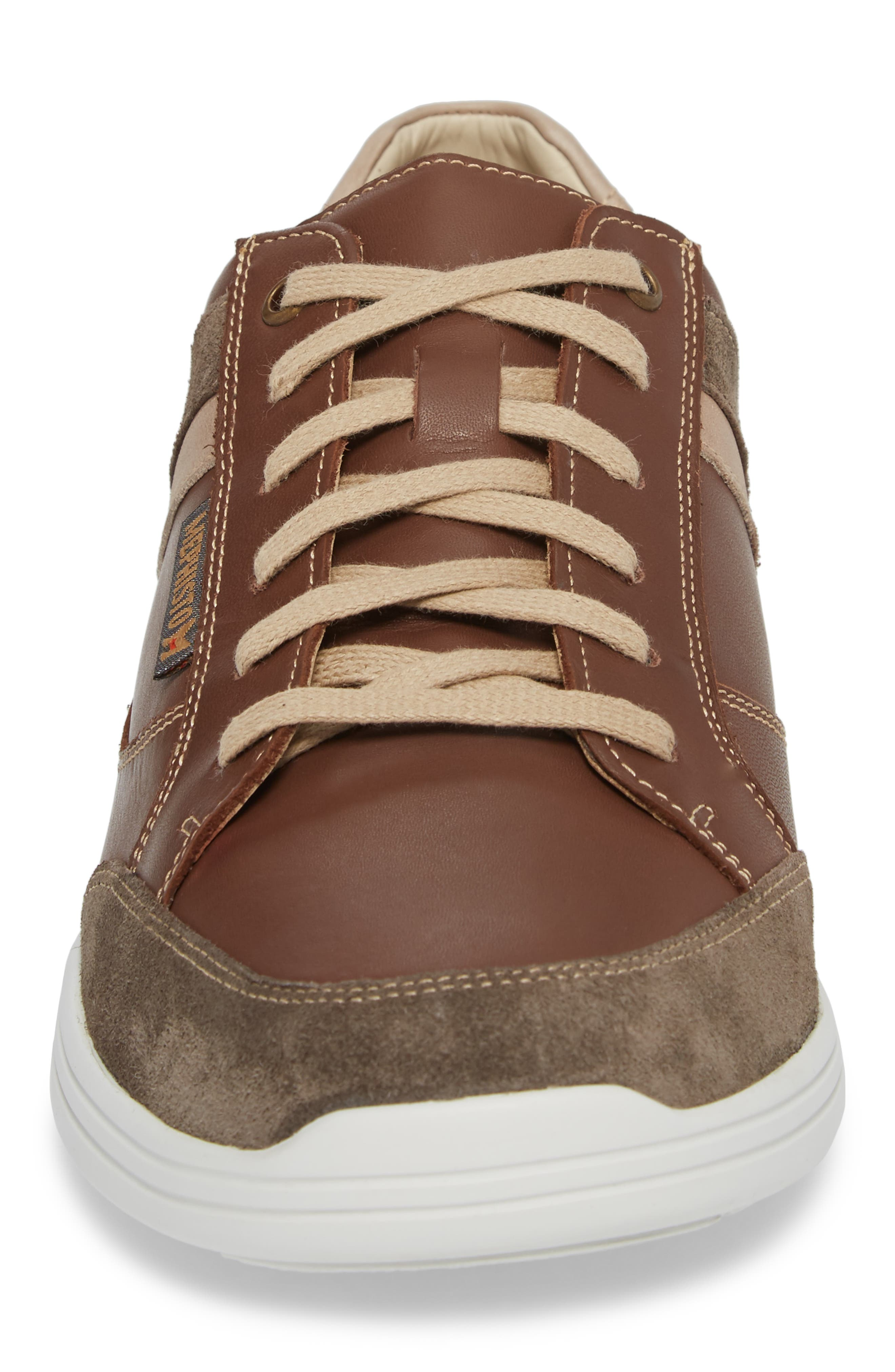 'Frank GoWing' Sneaker,                             Alternate thumbnail 4, color,                             Dark Taupe