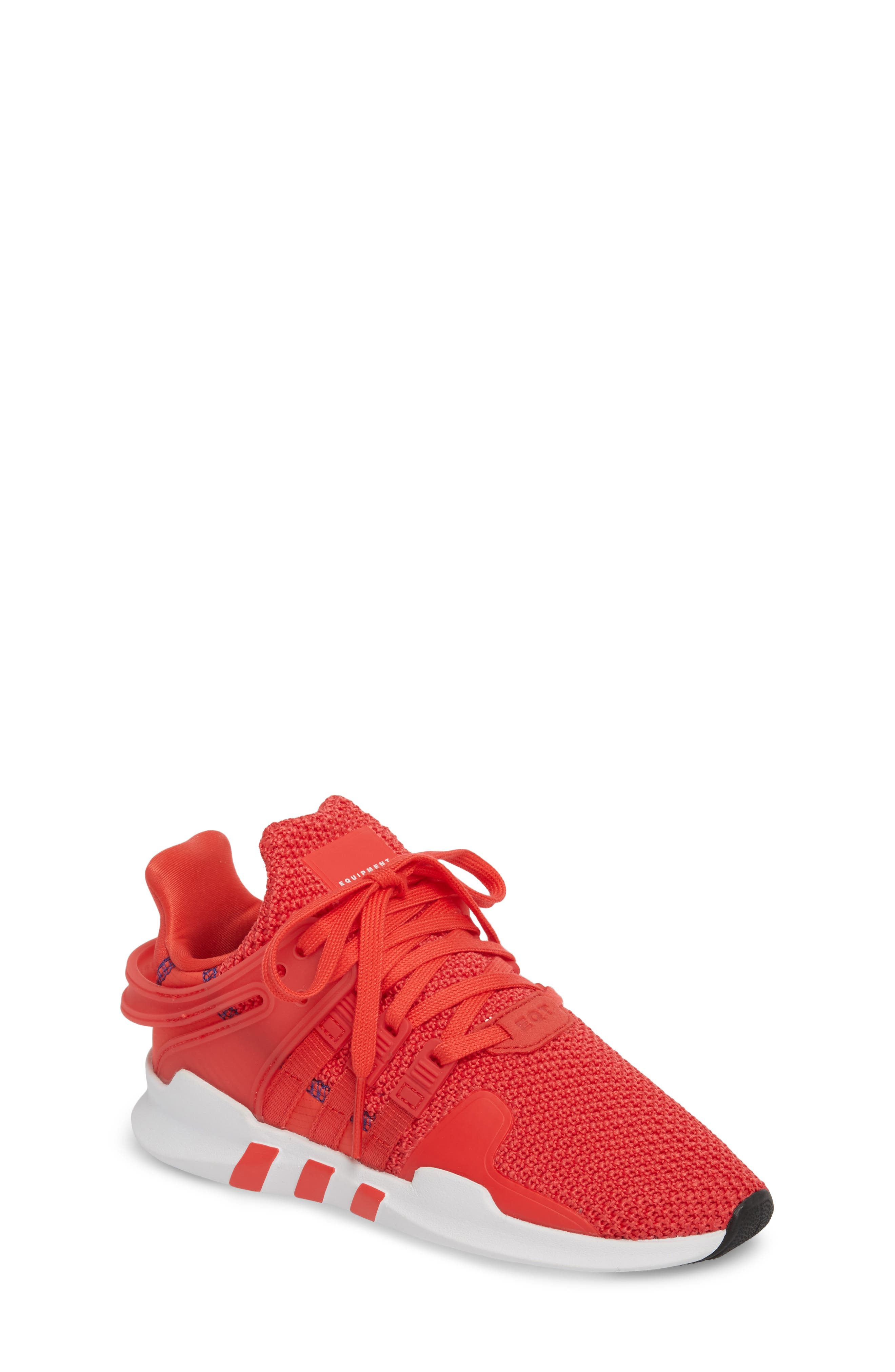 EQT Support Adv Sneaker,                             Main thumbnail 1, color,                             Coral White