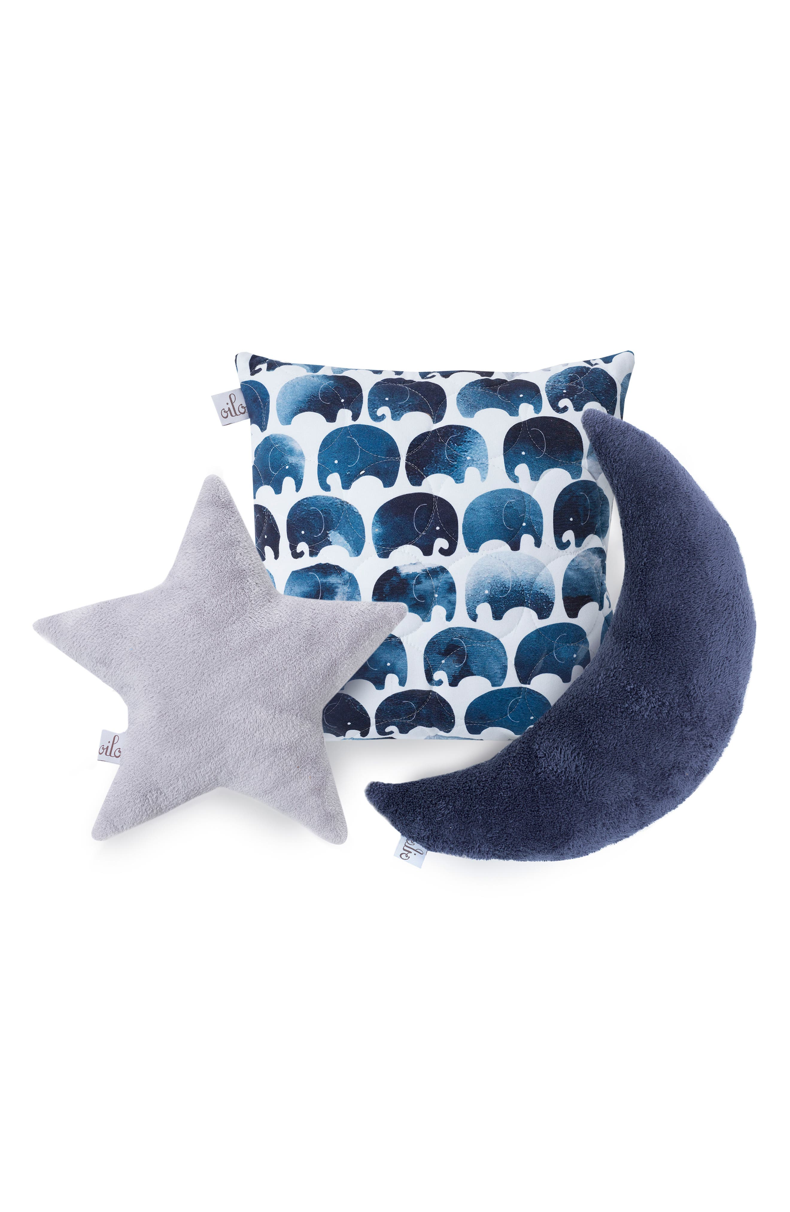 3-Piece Pillow Set,                             Alternate thumbnail 6, color,                             Elefant