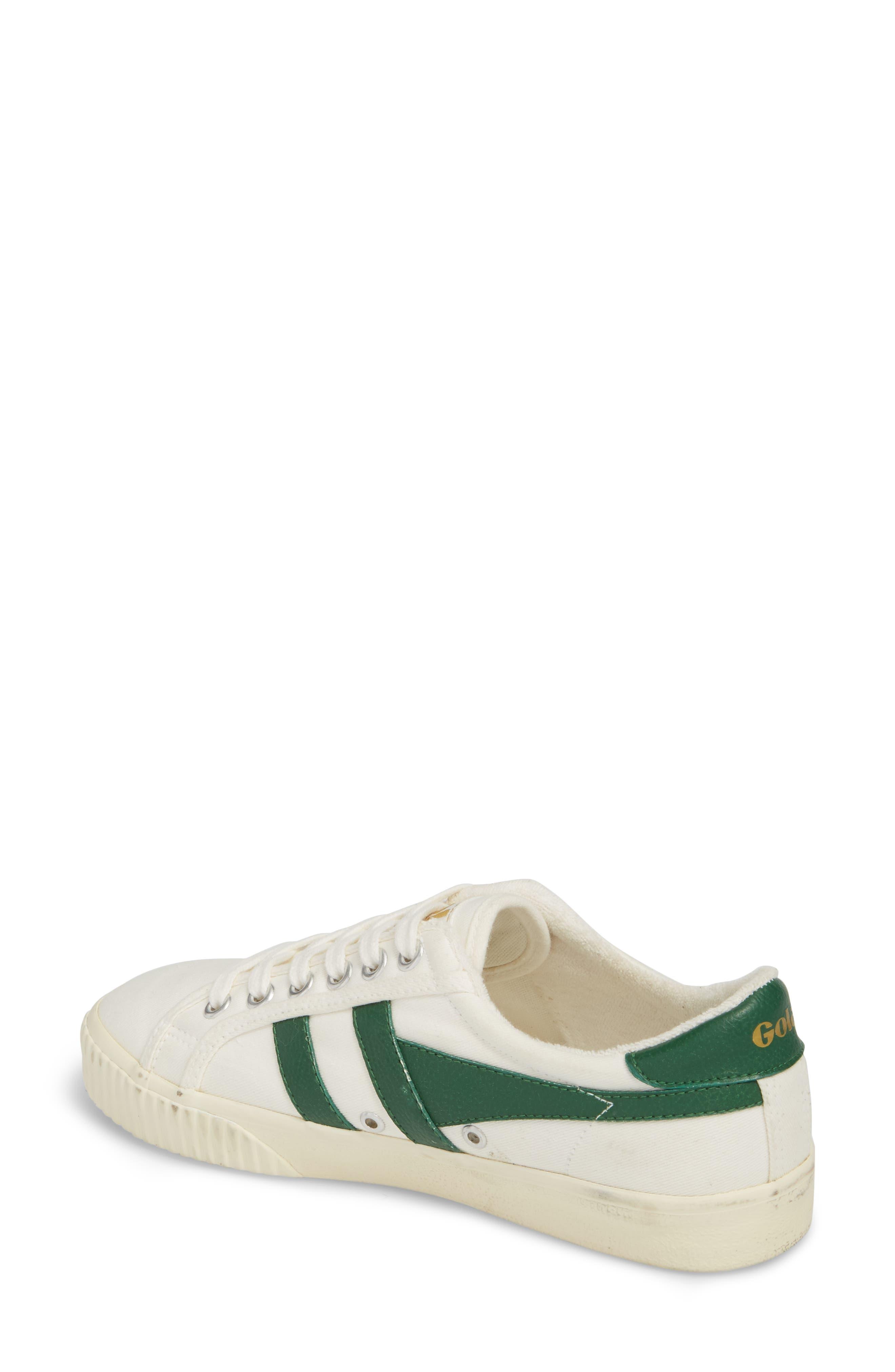 Tennis Mark Cox Sneaker,                             Alternate thumbnail 2, color,                             Off White/ Green