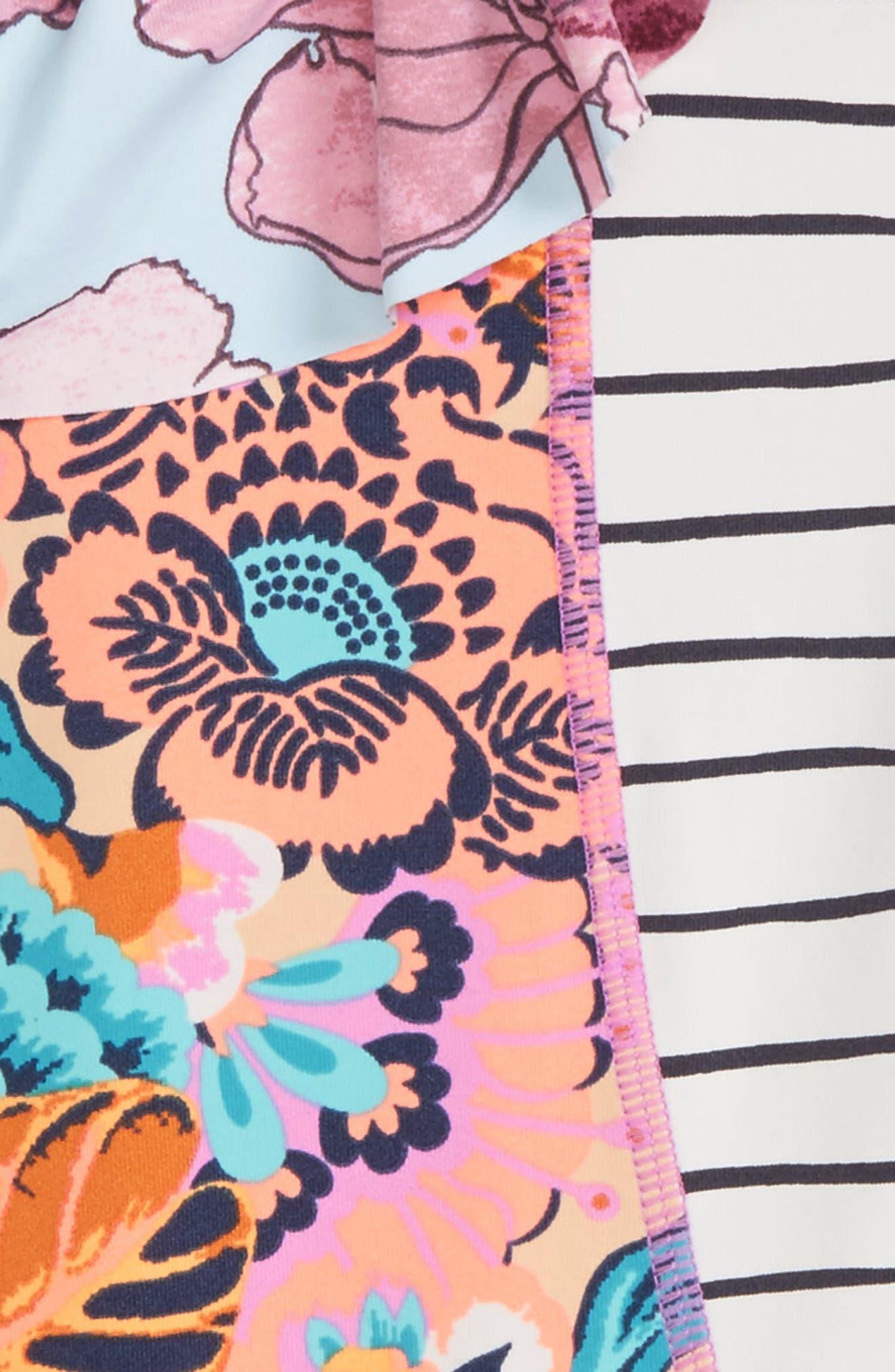 Heavenly Frills Reversible One-Piece Swimsuit,                             Alternate thumbnail 4, color,                             Multicolor