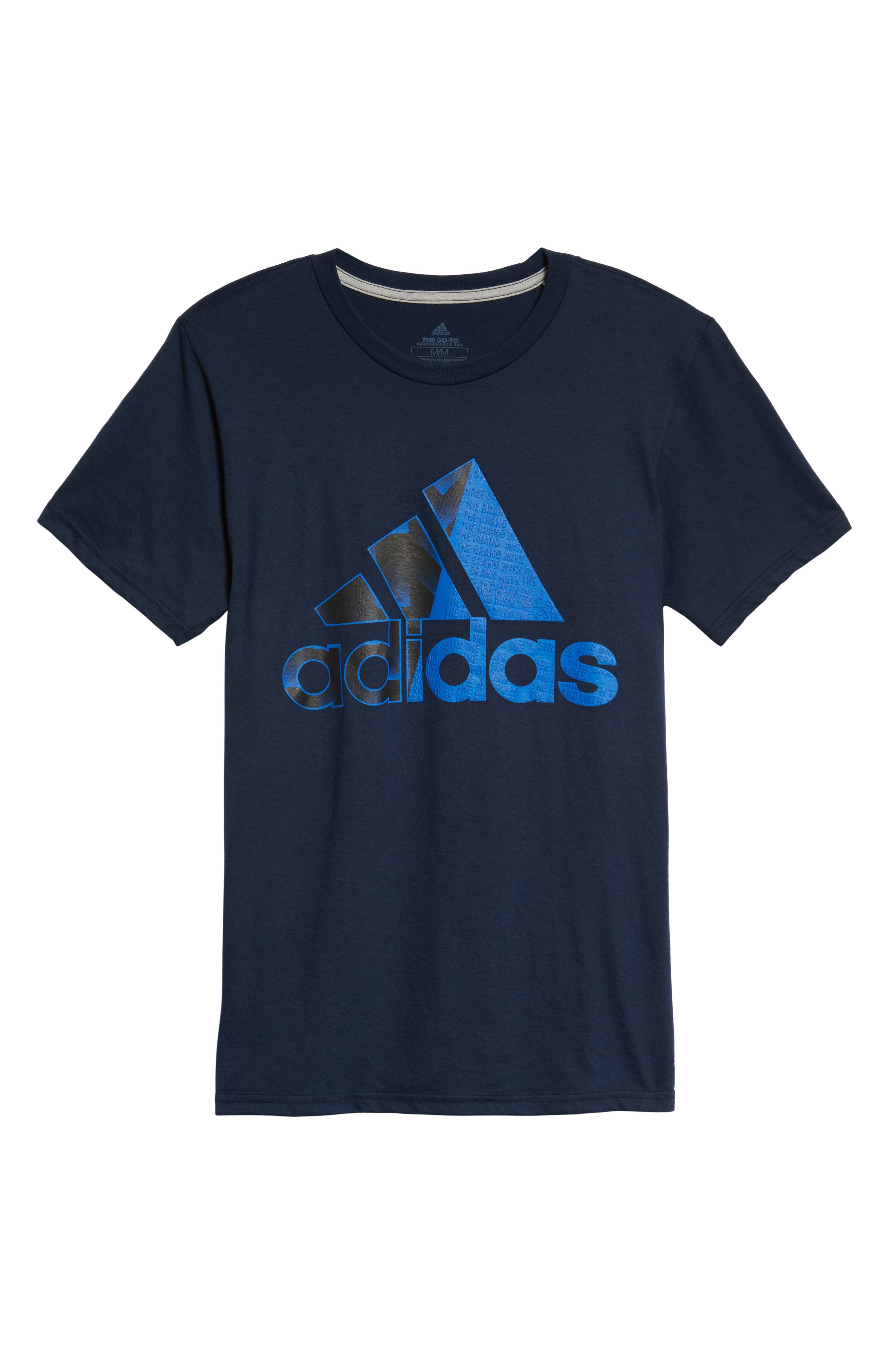 Alternate Image 6  - adidas Bos Split T-Shirt