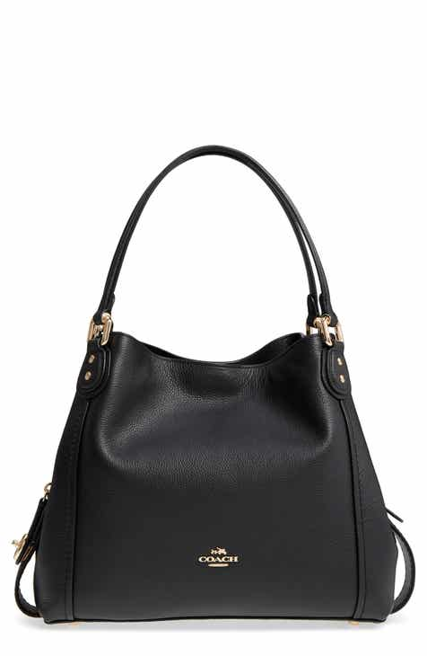 ab72420523 COACH Edie 31 Pebbled Leather Shoulder Bag
