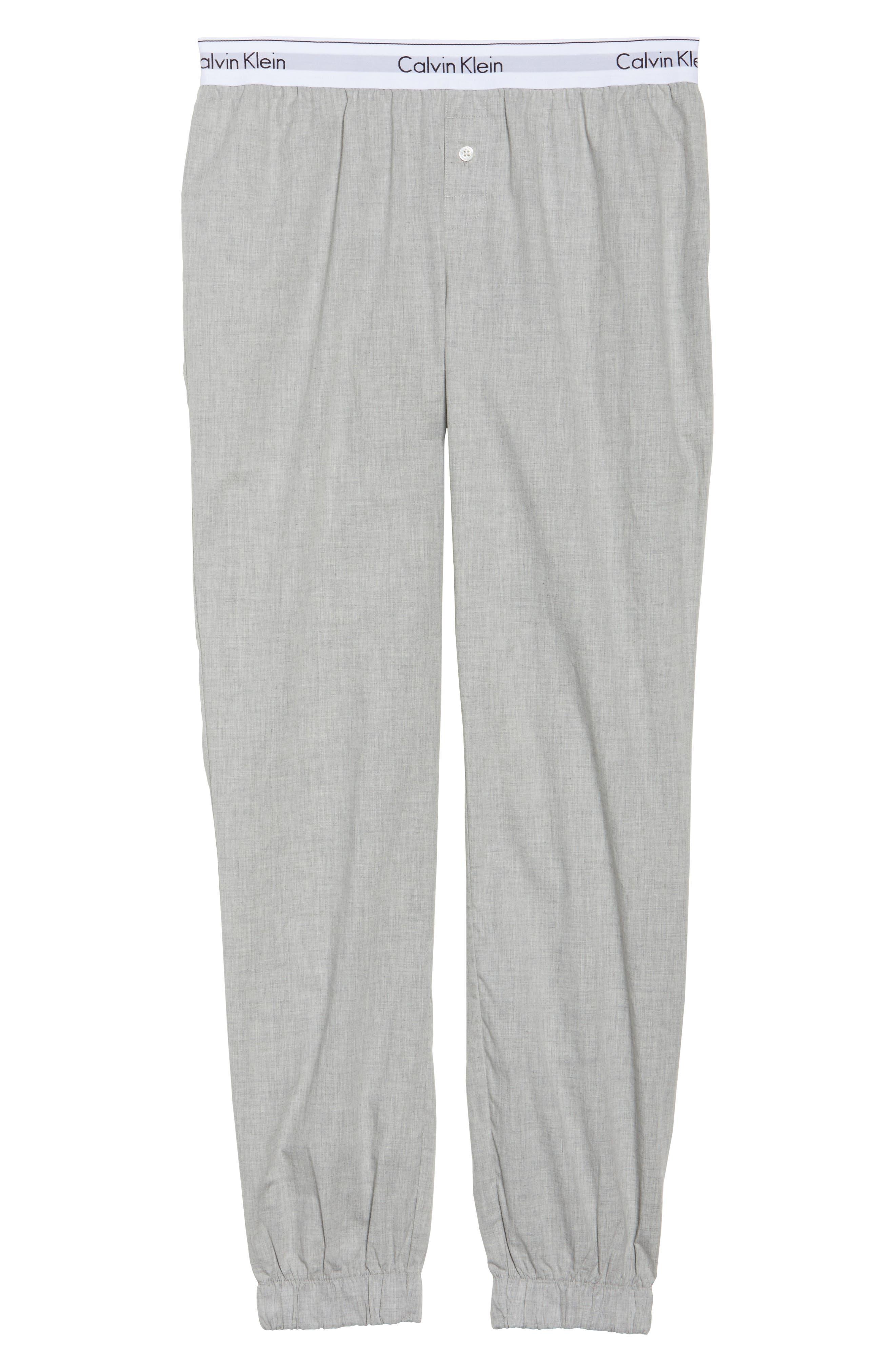 Lounge Jogger Pants,                             Alternate thumbnail 4, color,                             Grey Heather