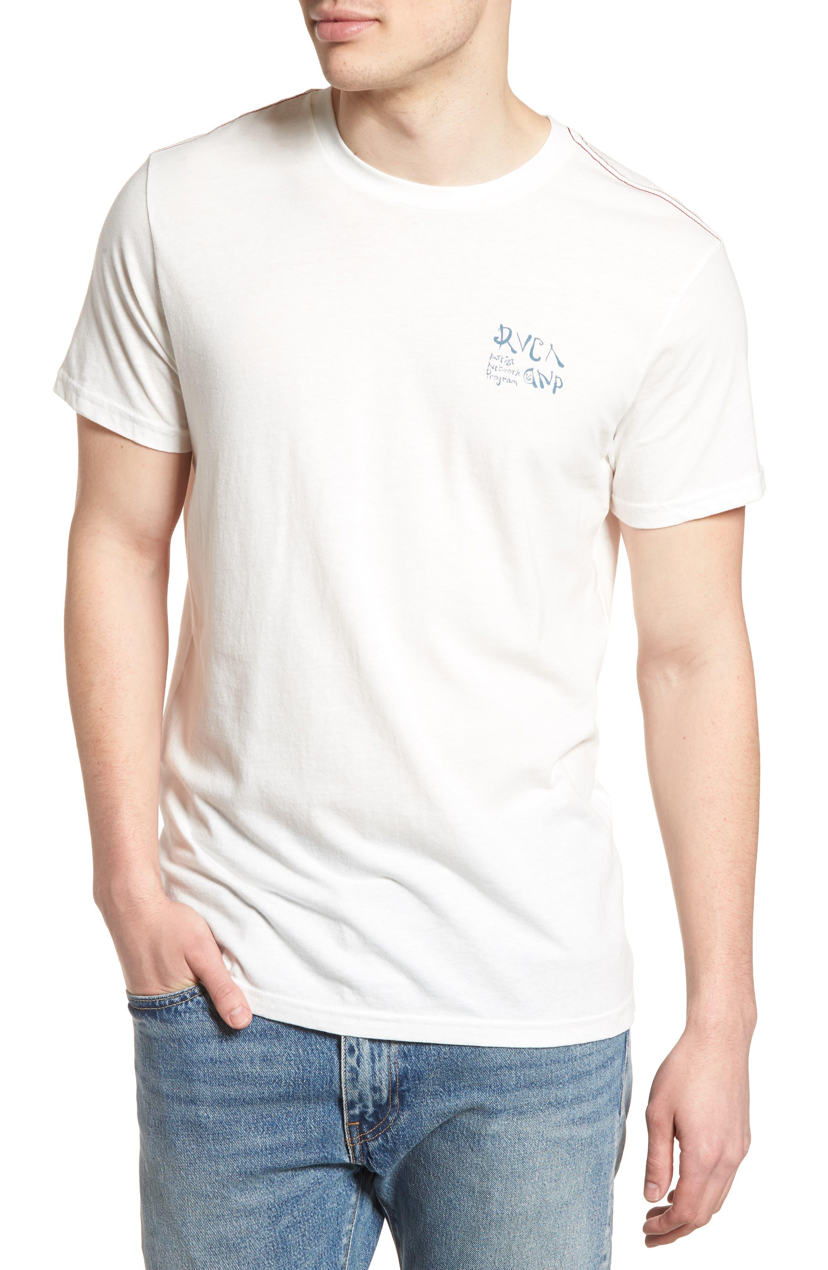 Kelsey ANP Motors T-Shirt,                             Main thumbnail 1, color,                             Ivory