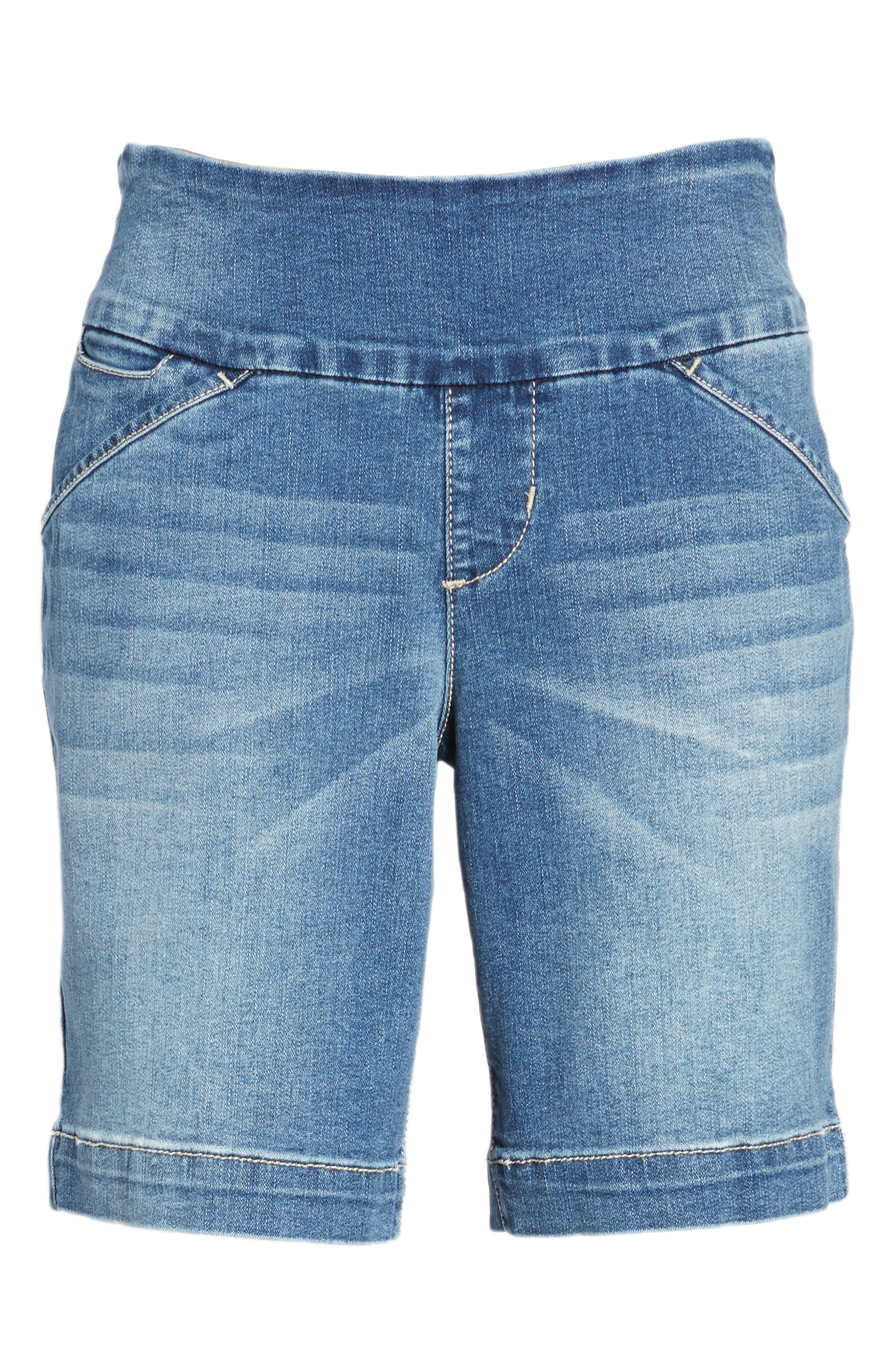 Alternate Image 6  - Jag Jeans Ainsley Pull-On Stretch Denim Shorts