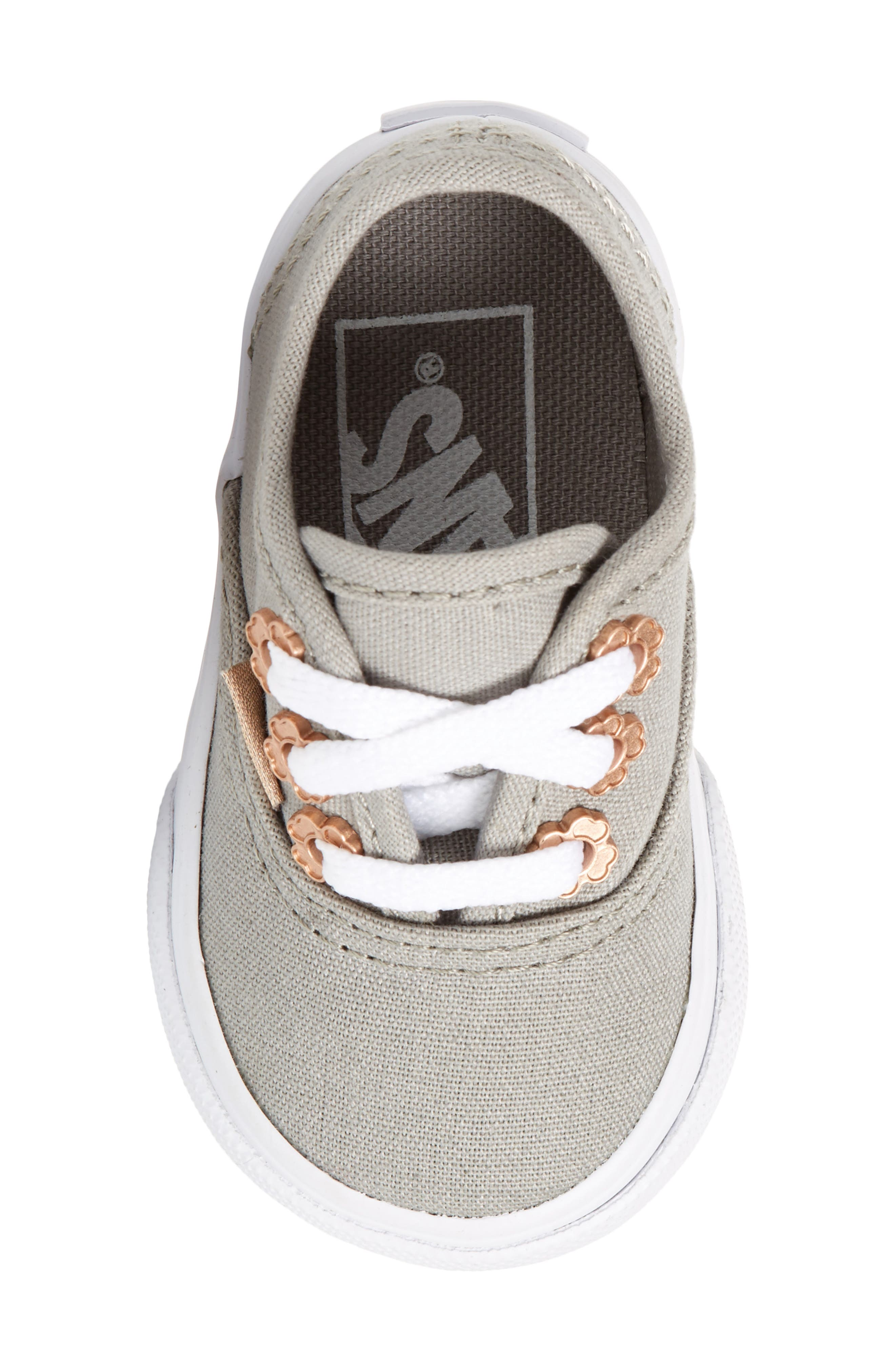 Authentic Sneaker,                             Alternate thumbnail 5, color,                             Drizzle Flower Eyelet