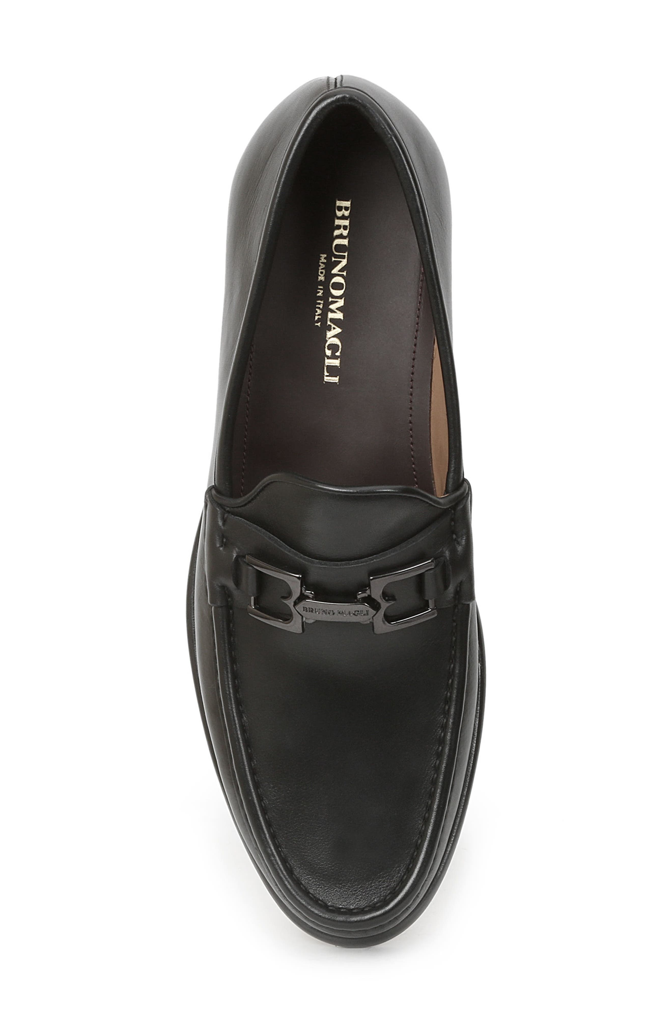 Enzo Bit Loafer,                             Alternate thumbnail 5, color,                             Black