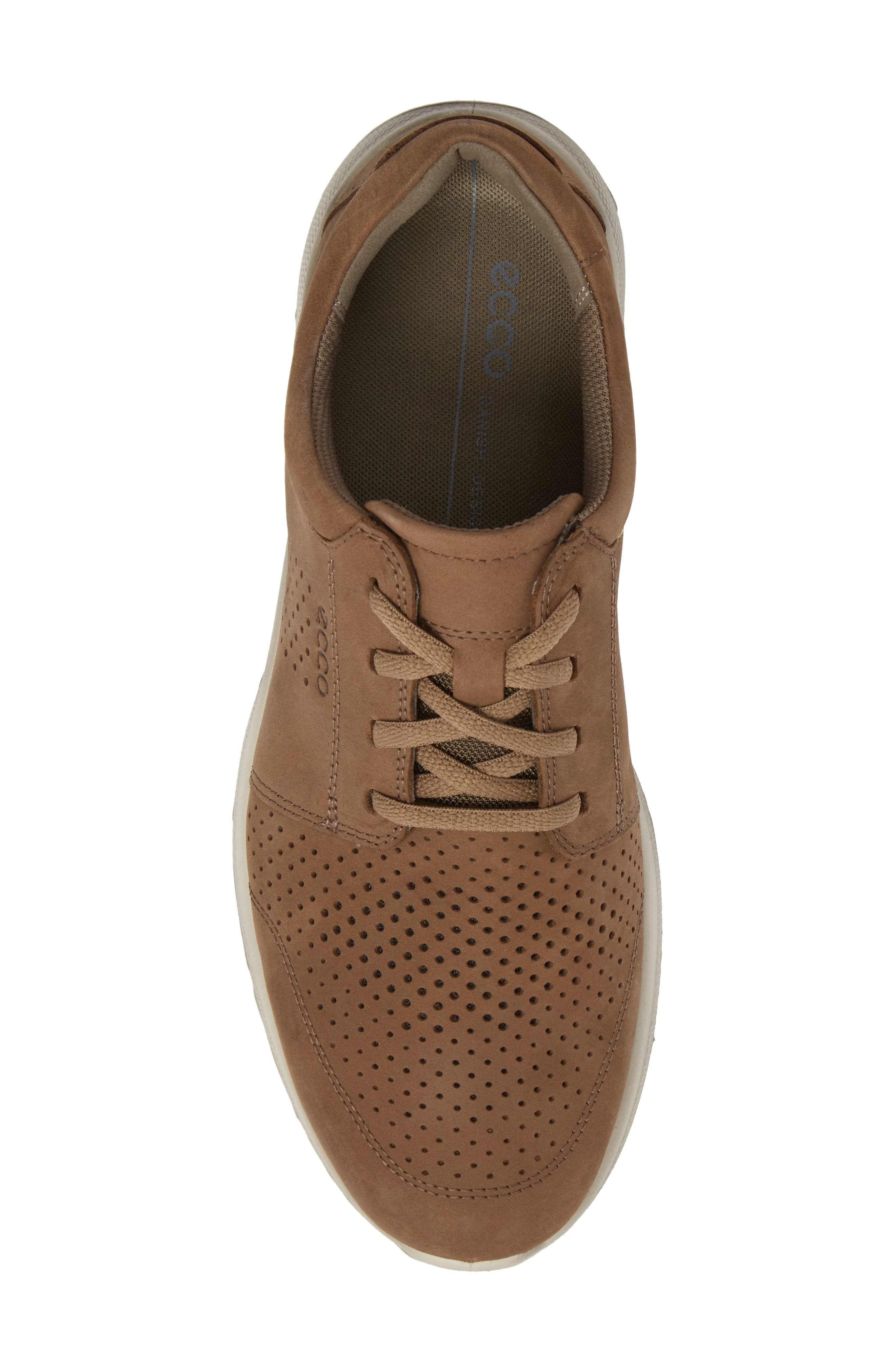 Irving Lace-Up Sneaker,                             Alternate thumbnail 5, color,                             Birch Leather