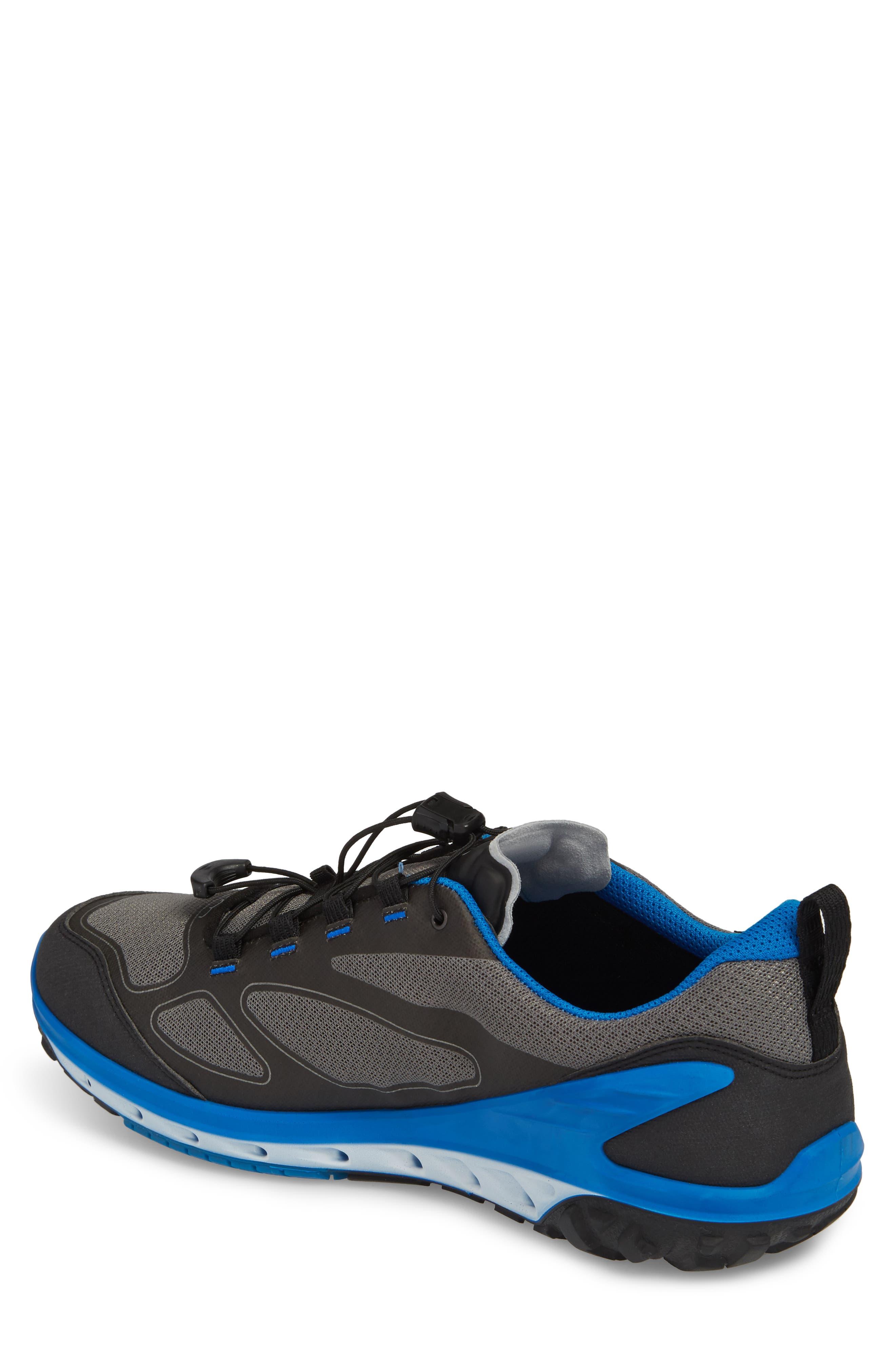 BIOM Venture GTX Sneaker,                             Alternate thumbnail 2, color,                             Black/ Titanium Leather