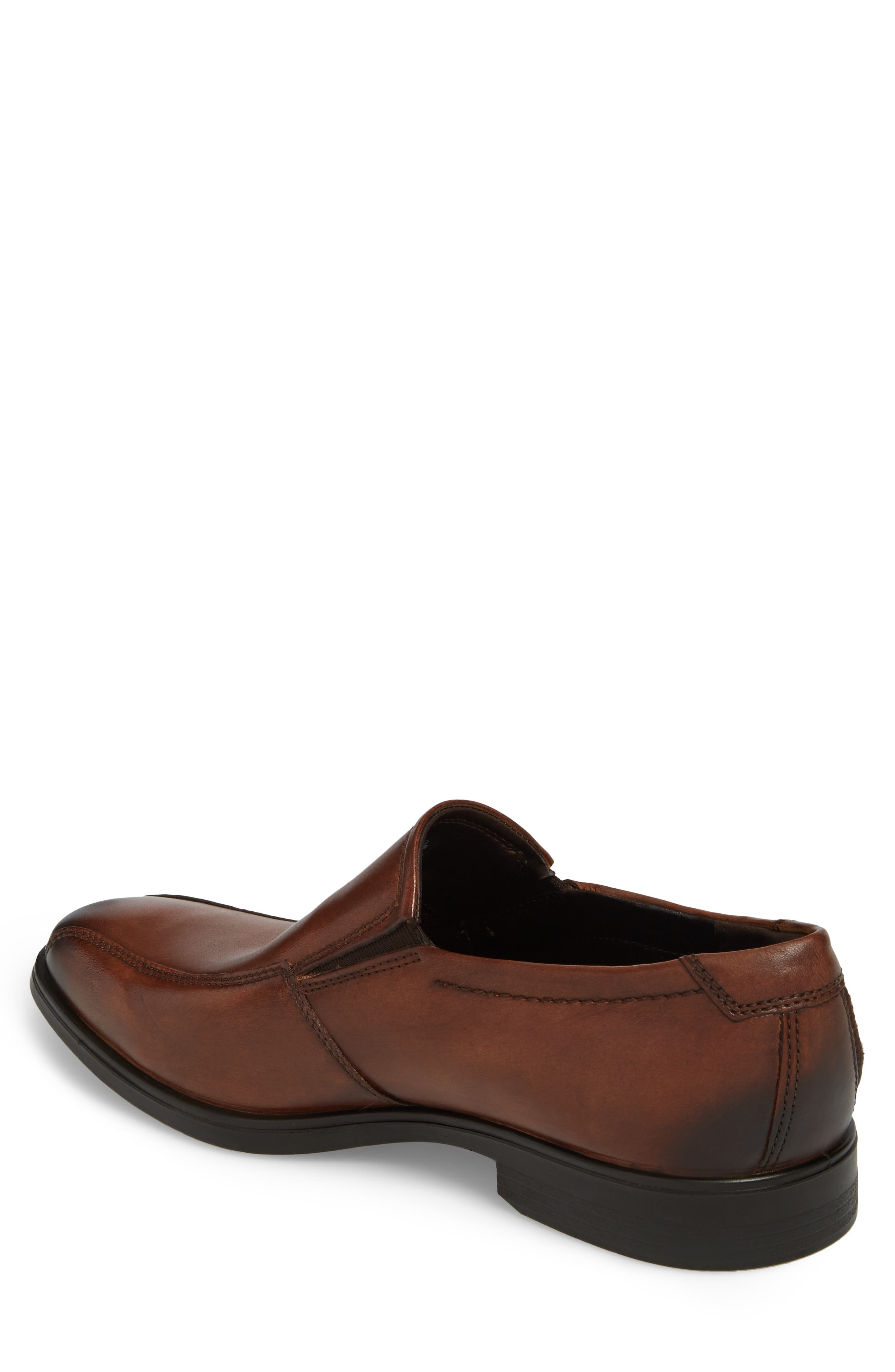 Melbourne Venetian Loafer,                             Alternate thumbnail 2, color,                             Amber Leather