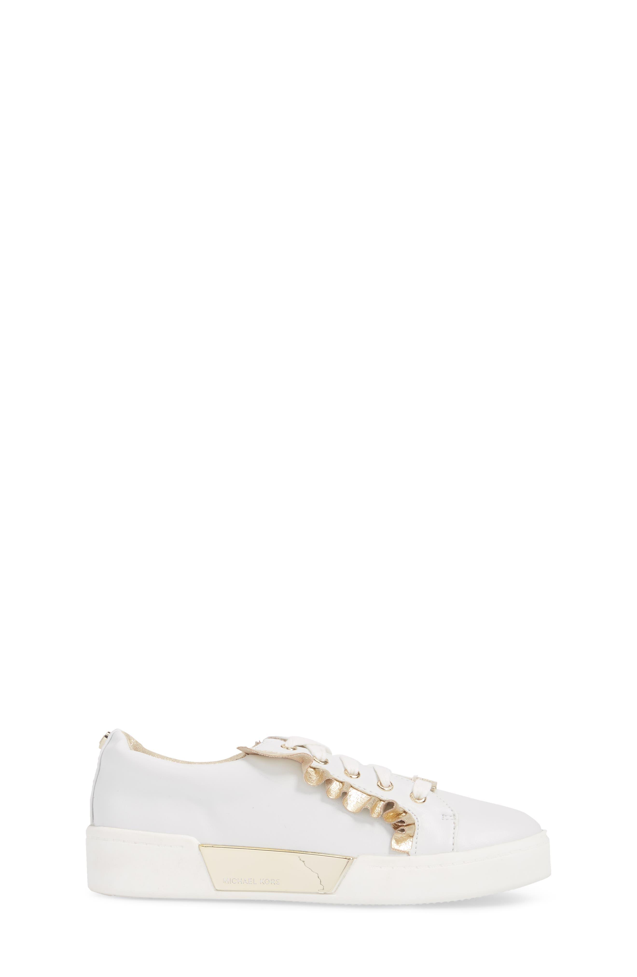 Guard Rail Sneaker,                             Alternate thumbnail 3, color,                             White