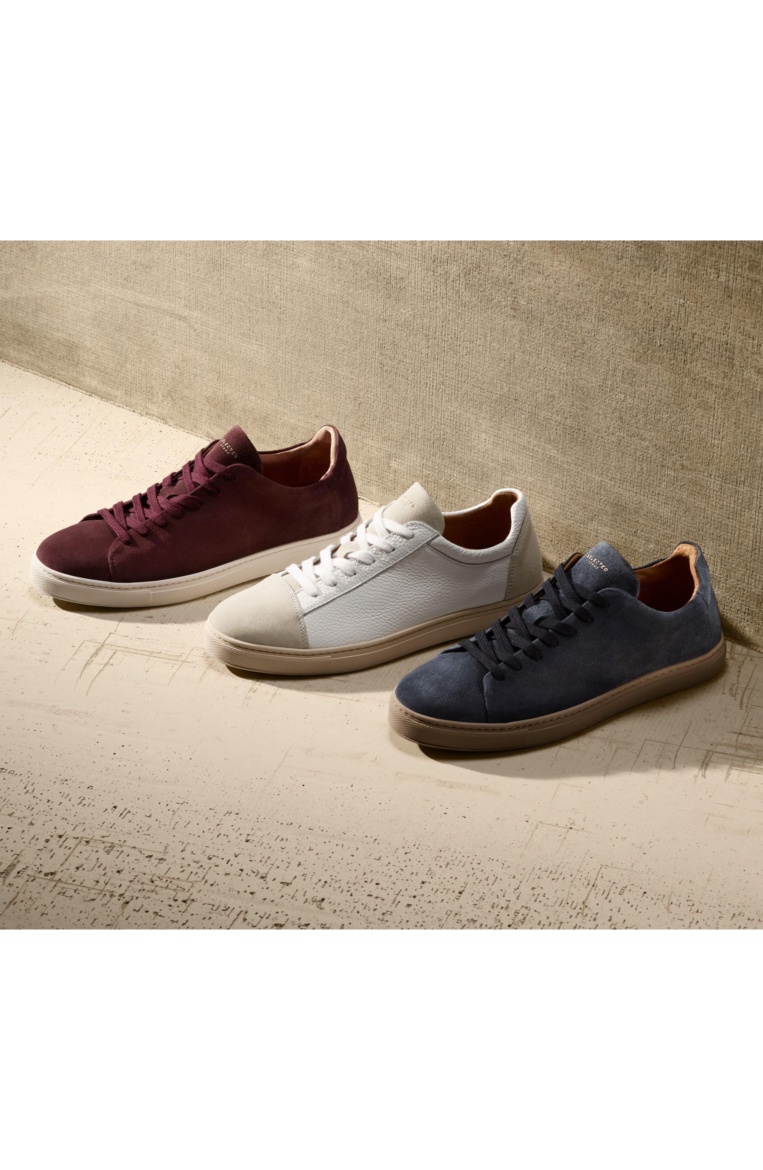 David Cap Toe Sneaker,                             Alternate thumbnail 7, color,