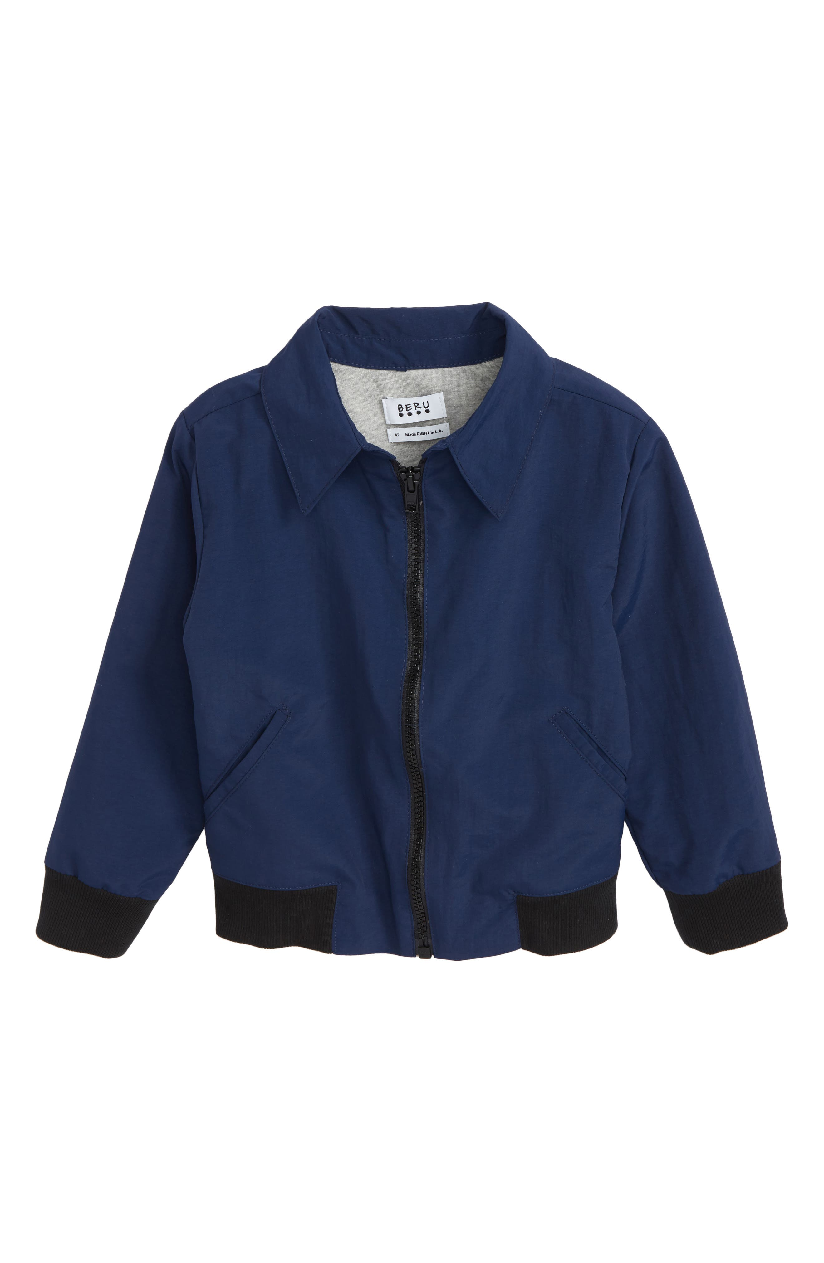 Riles Jacket,                             Main thumbnail 1, color,                             Navy