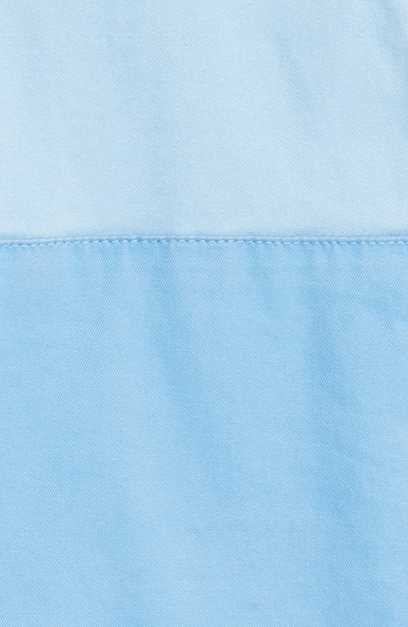 Pieced Stretch Breaker Shorts,                             Alternate thumbnail 2, color,                             Jake Blue