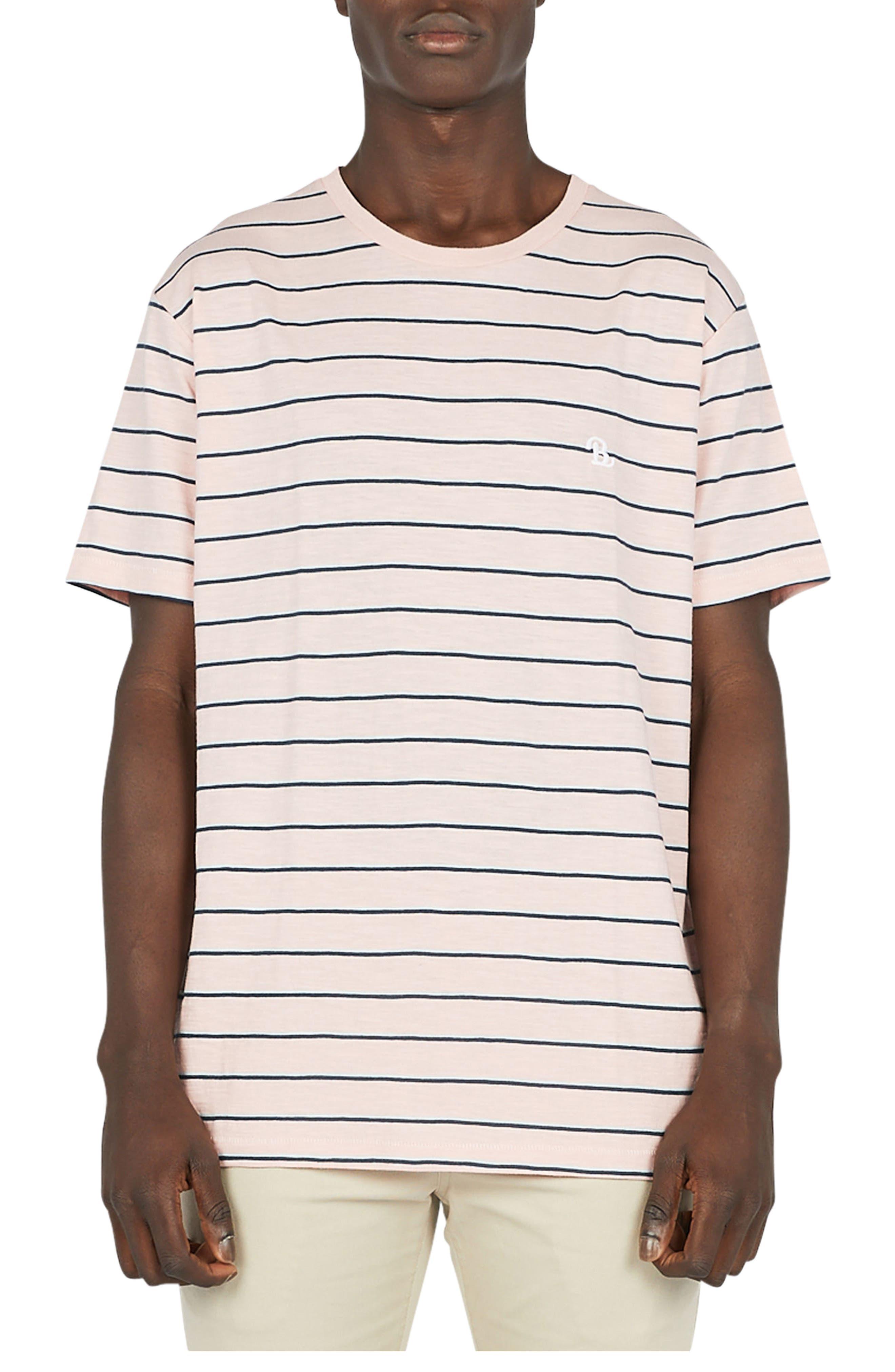 B.Schooled T-Shirt,                         Main,                         color, Pink Stripe