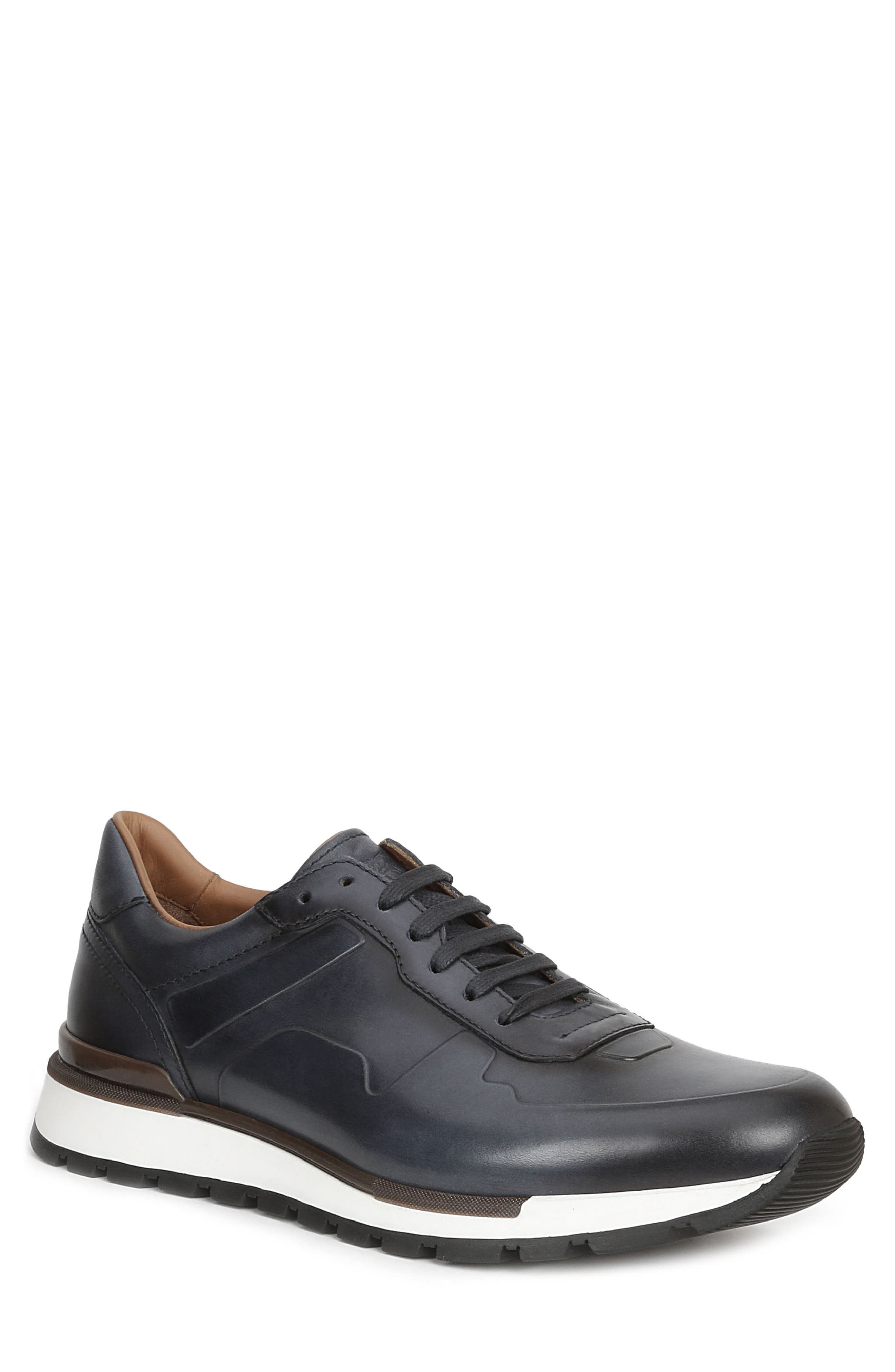 Davio Low Top Sneaker,                         Main,                         color, Navy