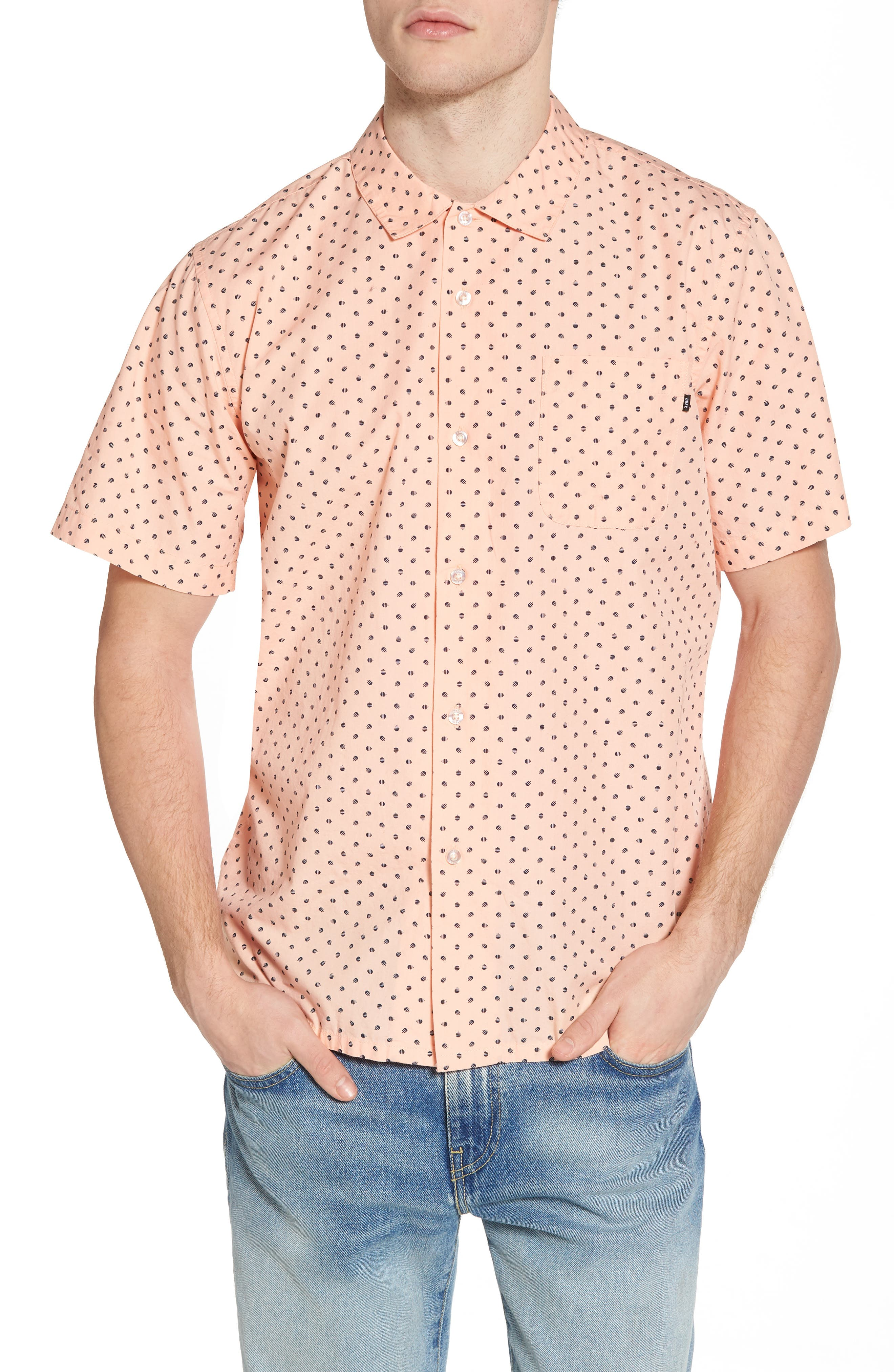 Main Image - Obey Gavin Short Sleeve Shirts