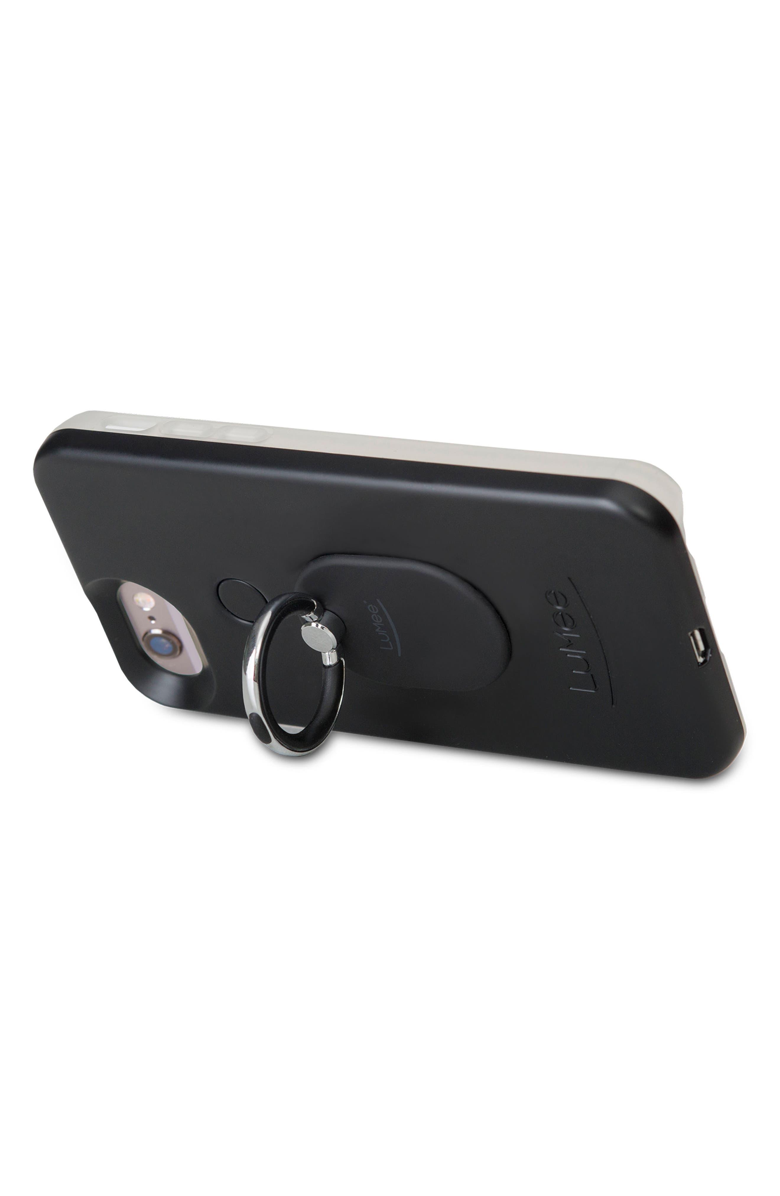 Ring Phone Case Grip,                             Alternate thumbnail 3, color,                             Black