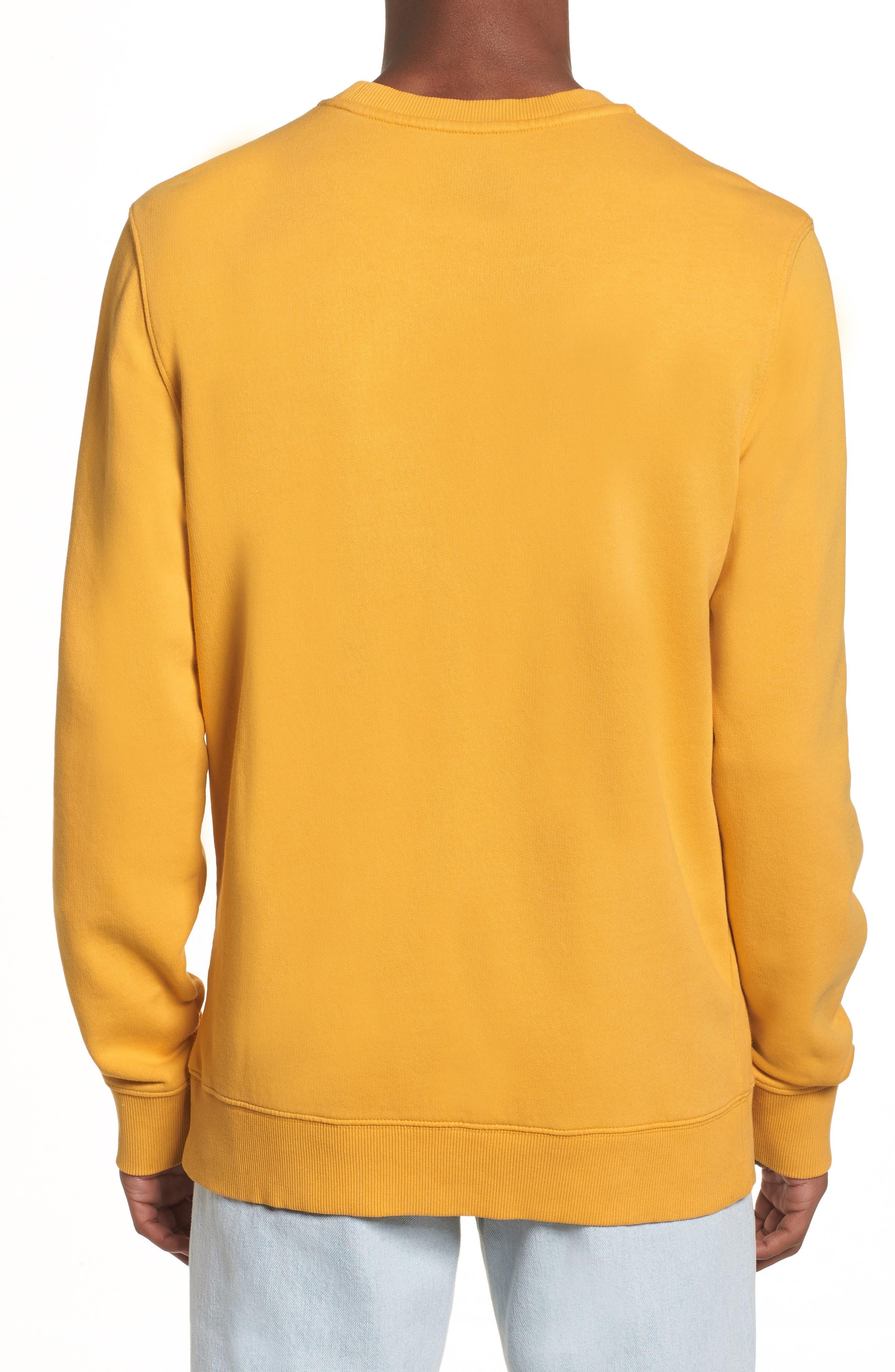 Pop Color Sweatshirt,                             Alternate thumbnail 2, color,                             Spectra Yellow