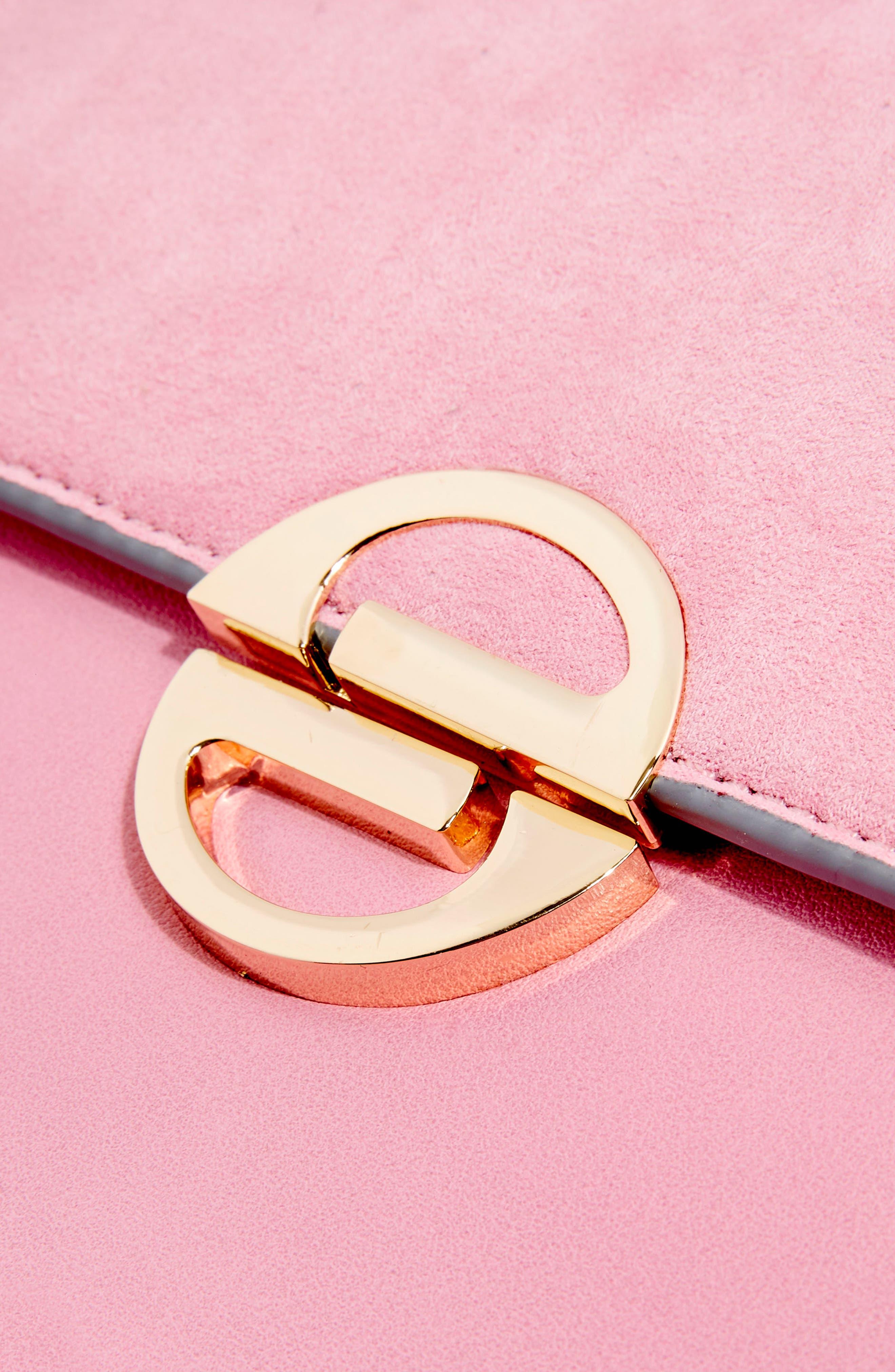 Clean Rae Crossbody Bag,                             Alternate thumbnail 4, color,                             Pink
