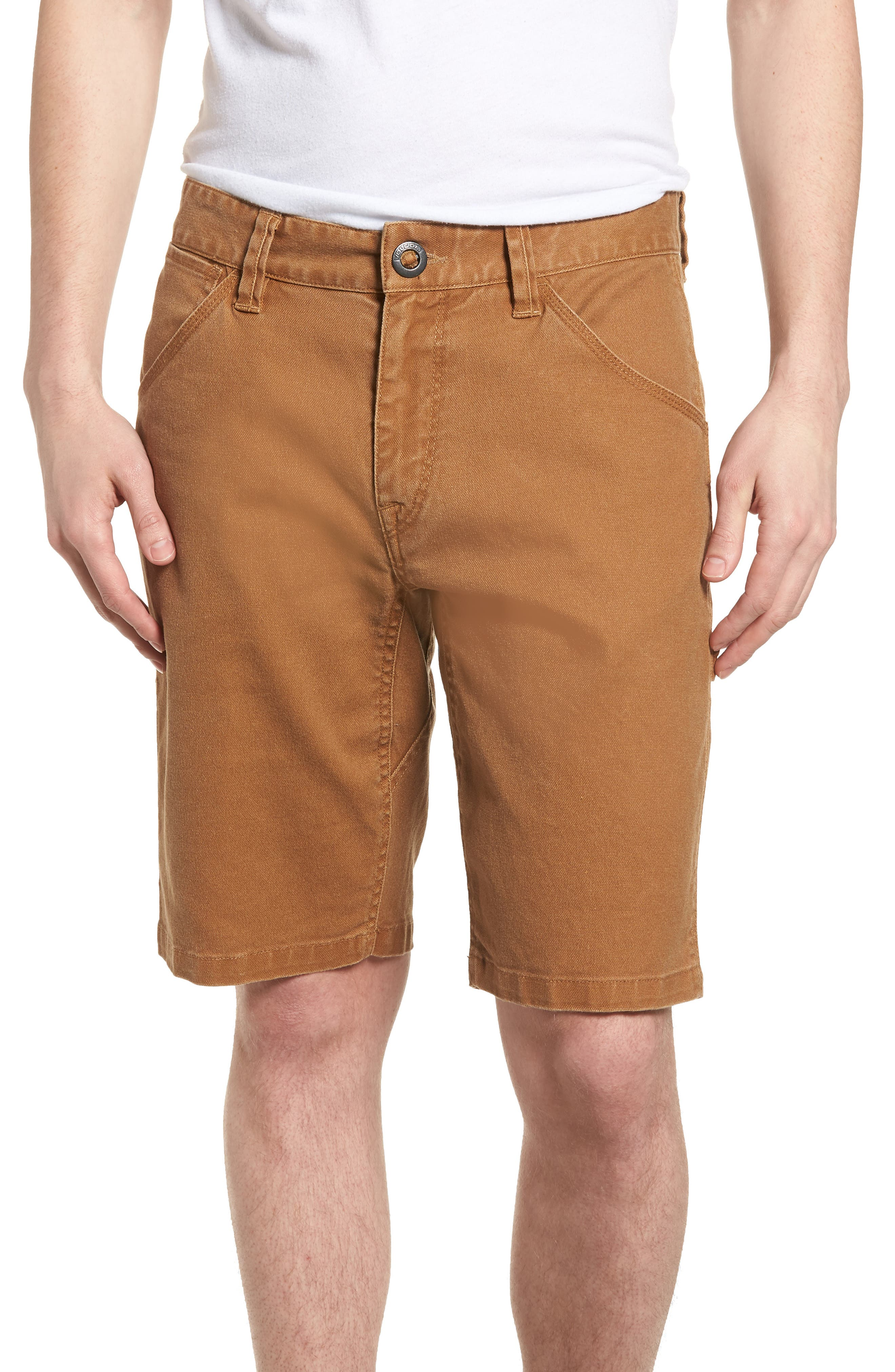 Whaler Utility Shorts,                         Main,                         color, Camel