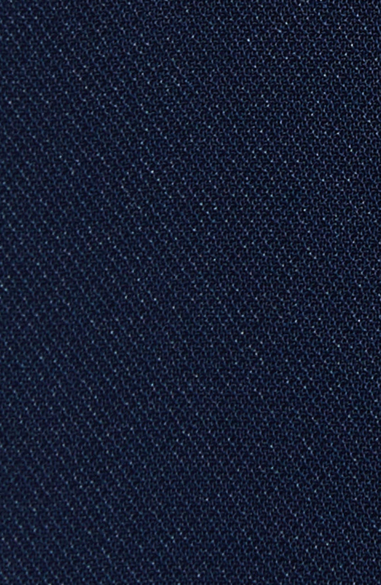 Xzenia Bow Miniskirt,                             Alternate thumbnail 5, color,                             Navy
