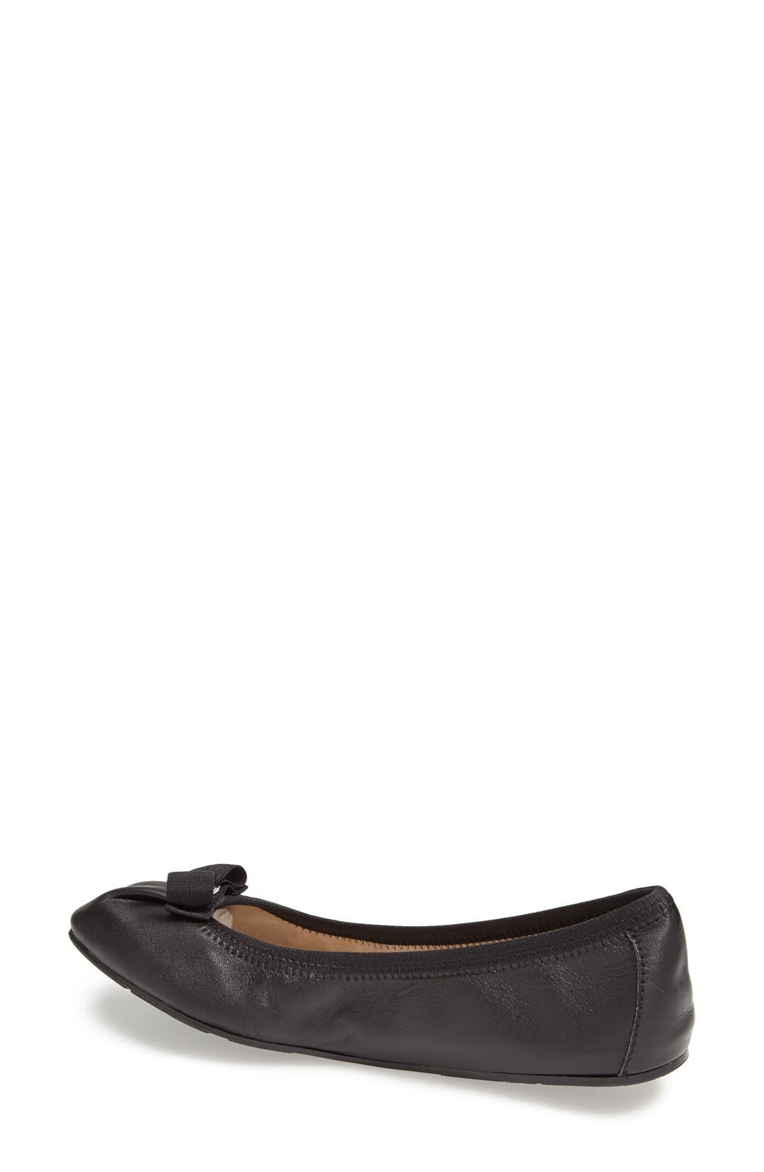 Alternate Image 2  - Salvatore Ferragamo Skimmer Flat (Women)