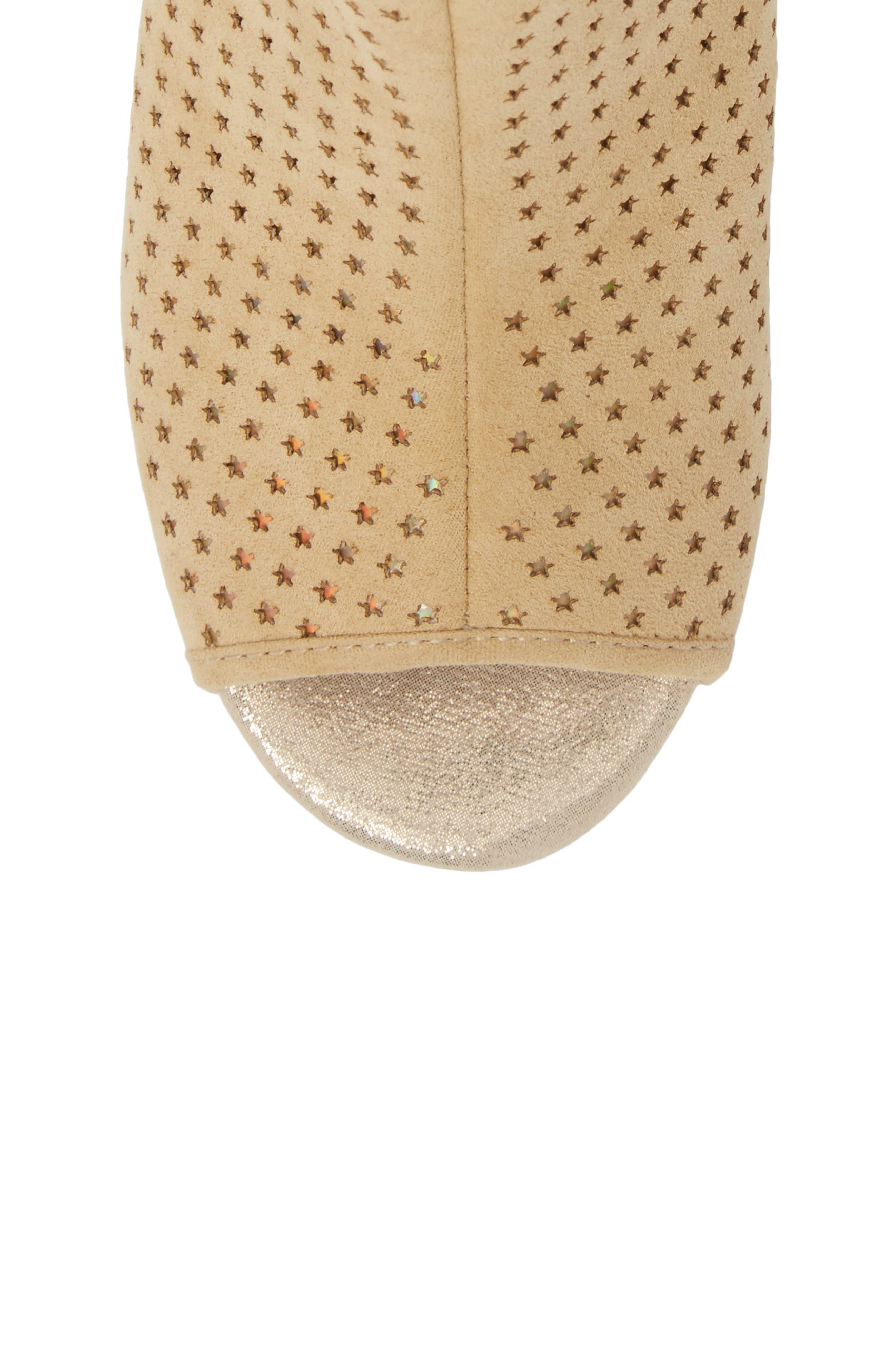 Cate Foe Wedge Sandal,                             Alternate thumbnail 5, color,                             Sand