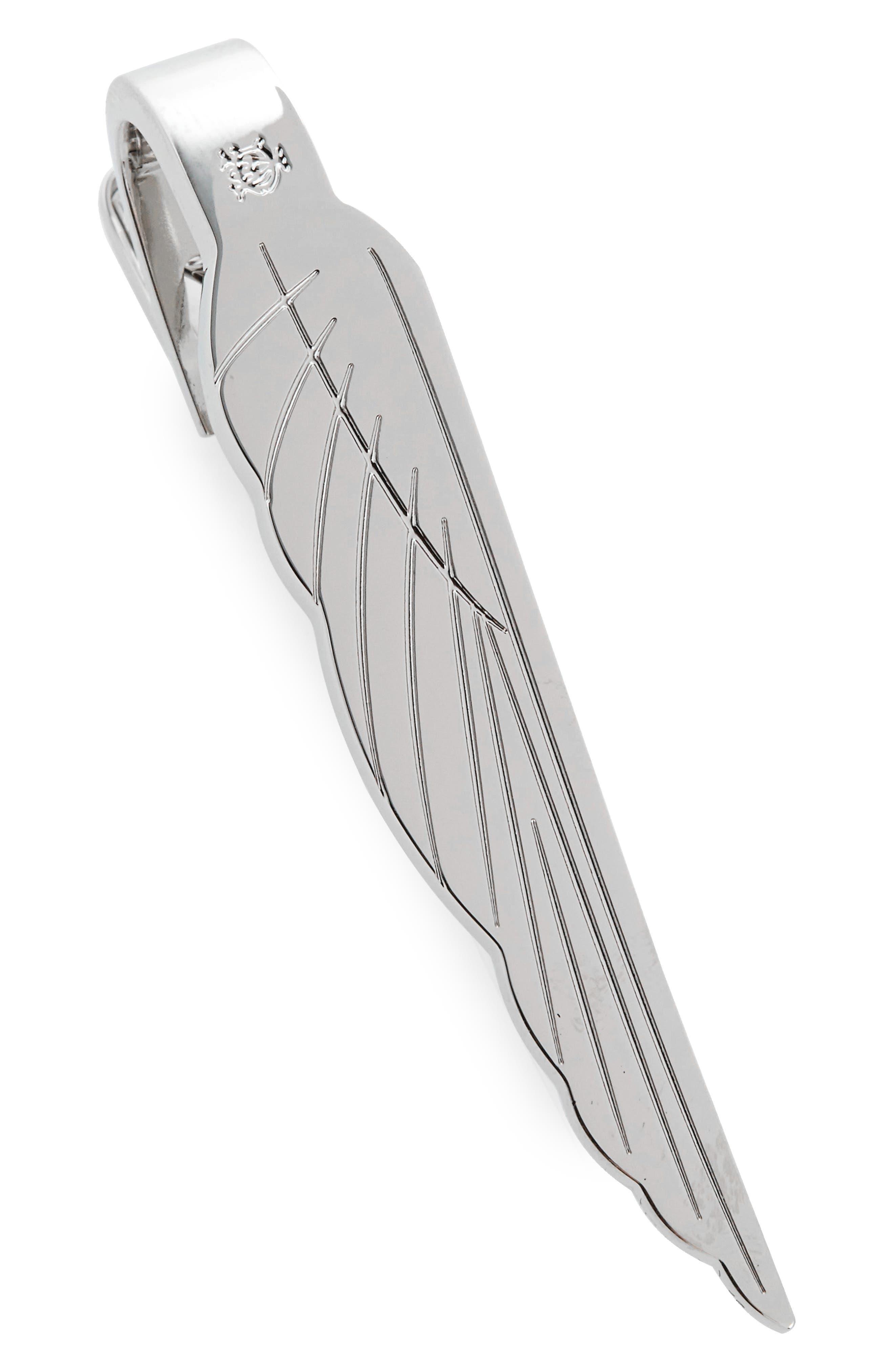 Motorties Tie Bar,                             Main thumbnail 1, color,                             Silver