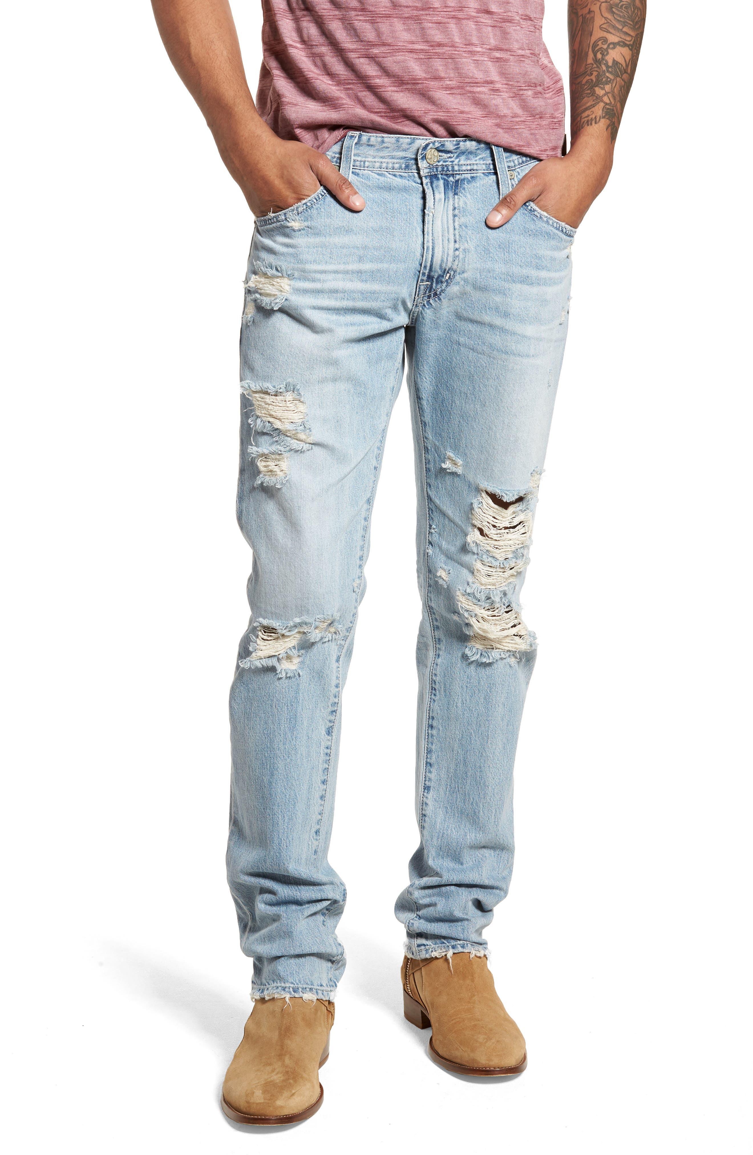 Tellis Slim Fit Jeans,                             Main thumbnail 1, color,                             23 Years Seafarer