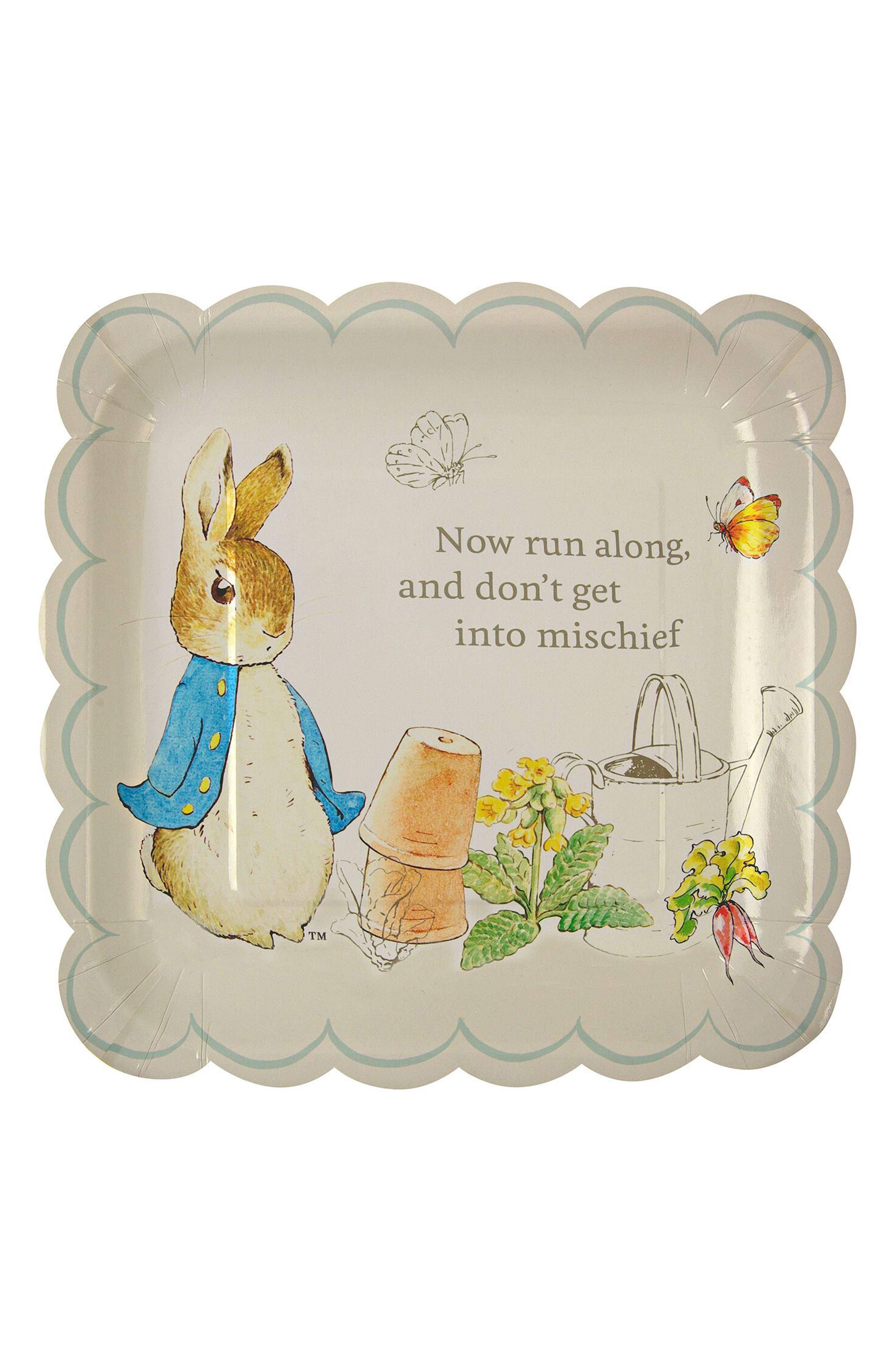 Peter Rabbit Party Bundle,                             Main thumbnail 1, color,                             Ivory Multi