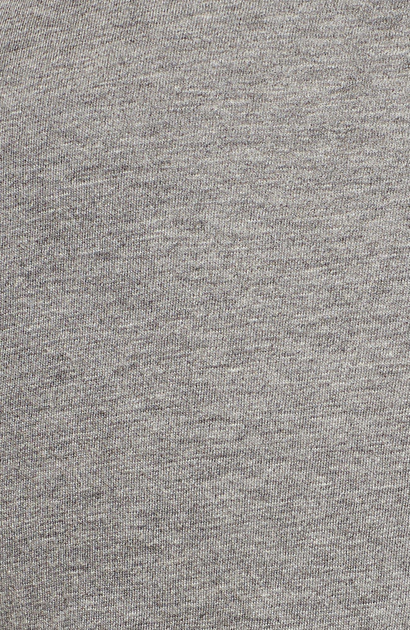 San Francisco Giants Fader Letter Tee,                             Alternate thumbnail 6, color,                             Slate Grey