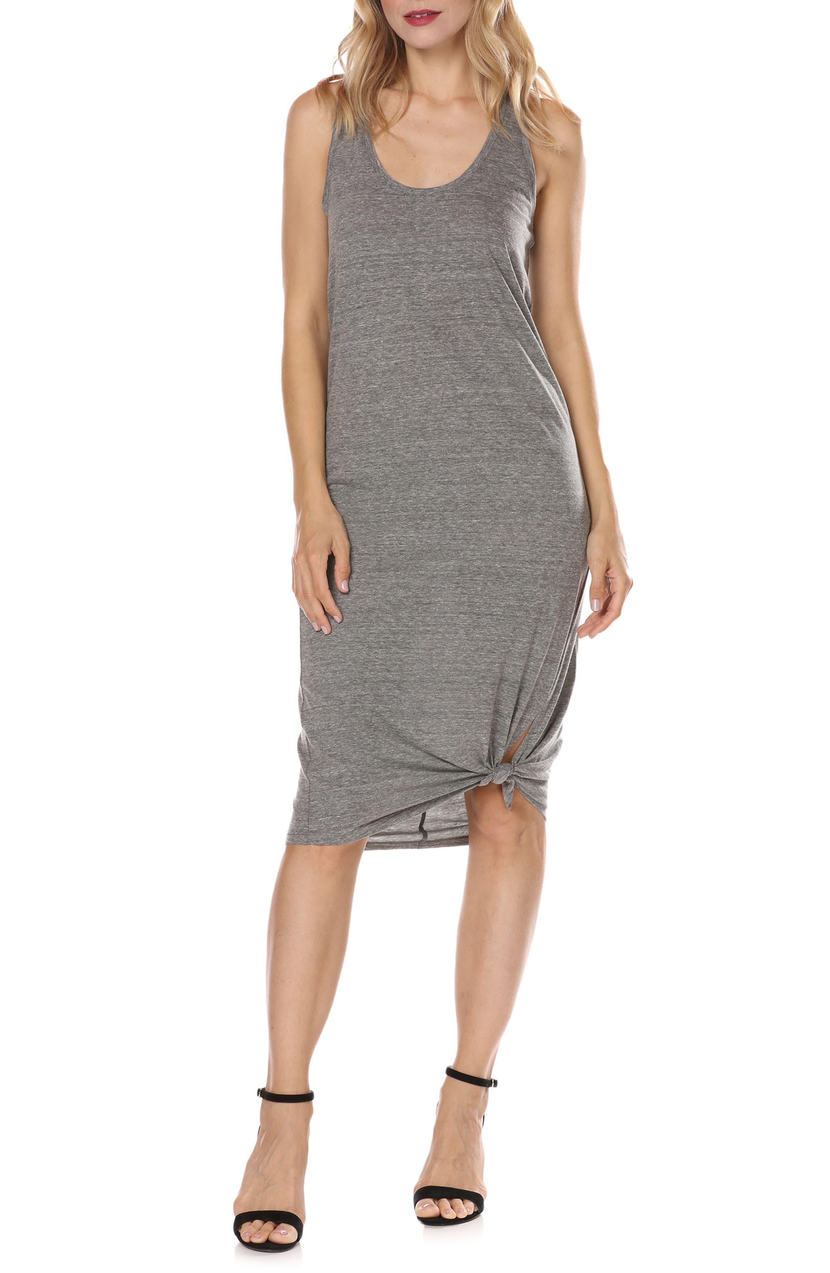Perrine Shift Dress,                         Main,                         color, Heather Grey