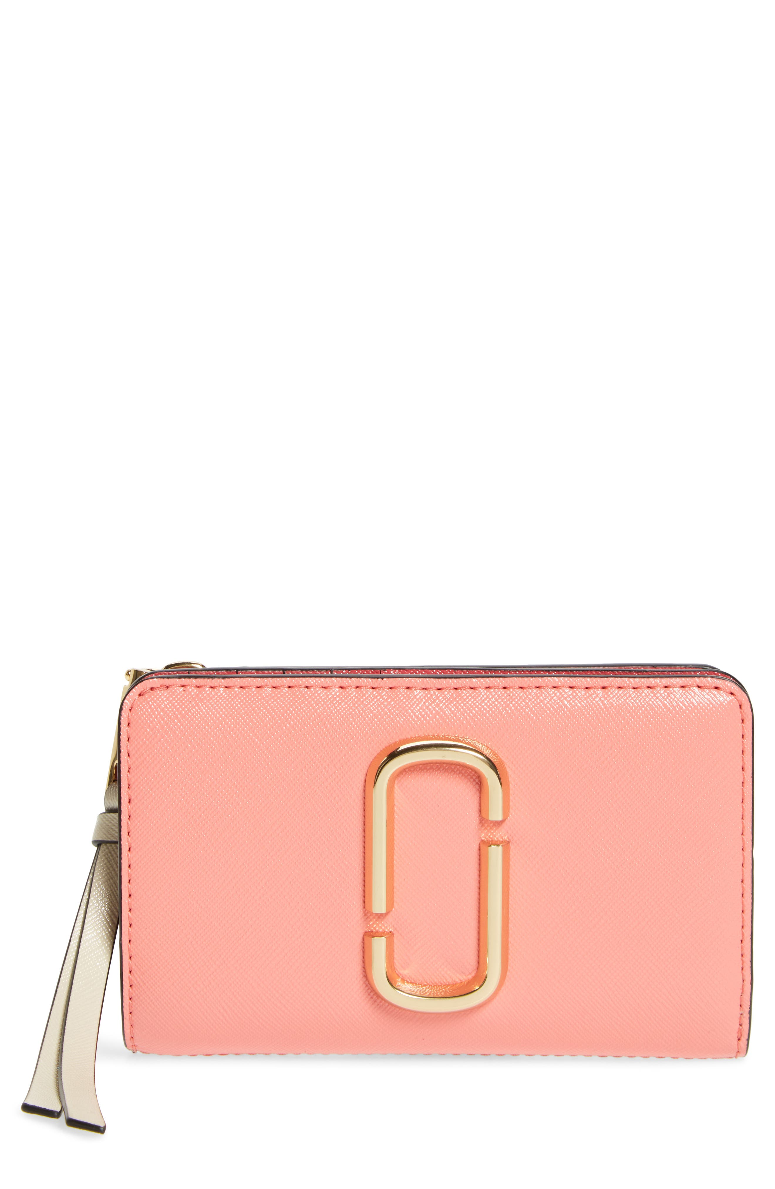 MARC JACOBS Snapshot Compact Leather Wallet