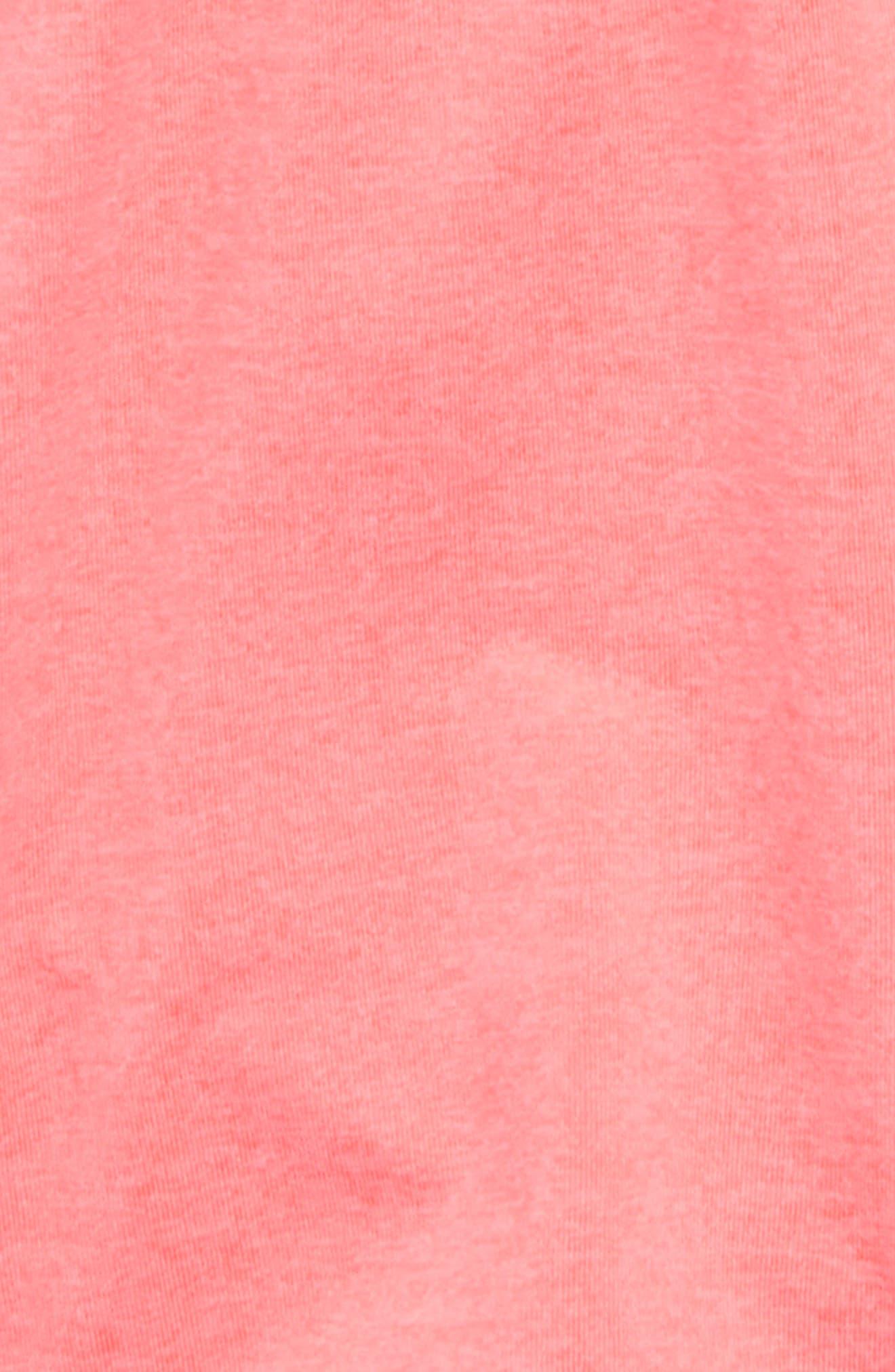 Logo Sport Shorts,                             Alternate thumbnail 2, color,                             Soft Flu Peach Heather