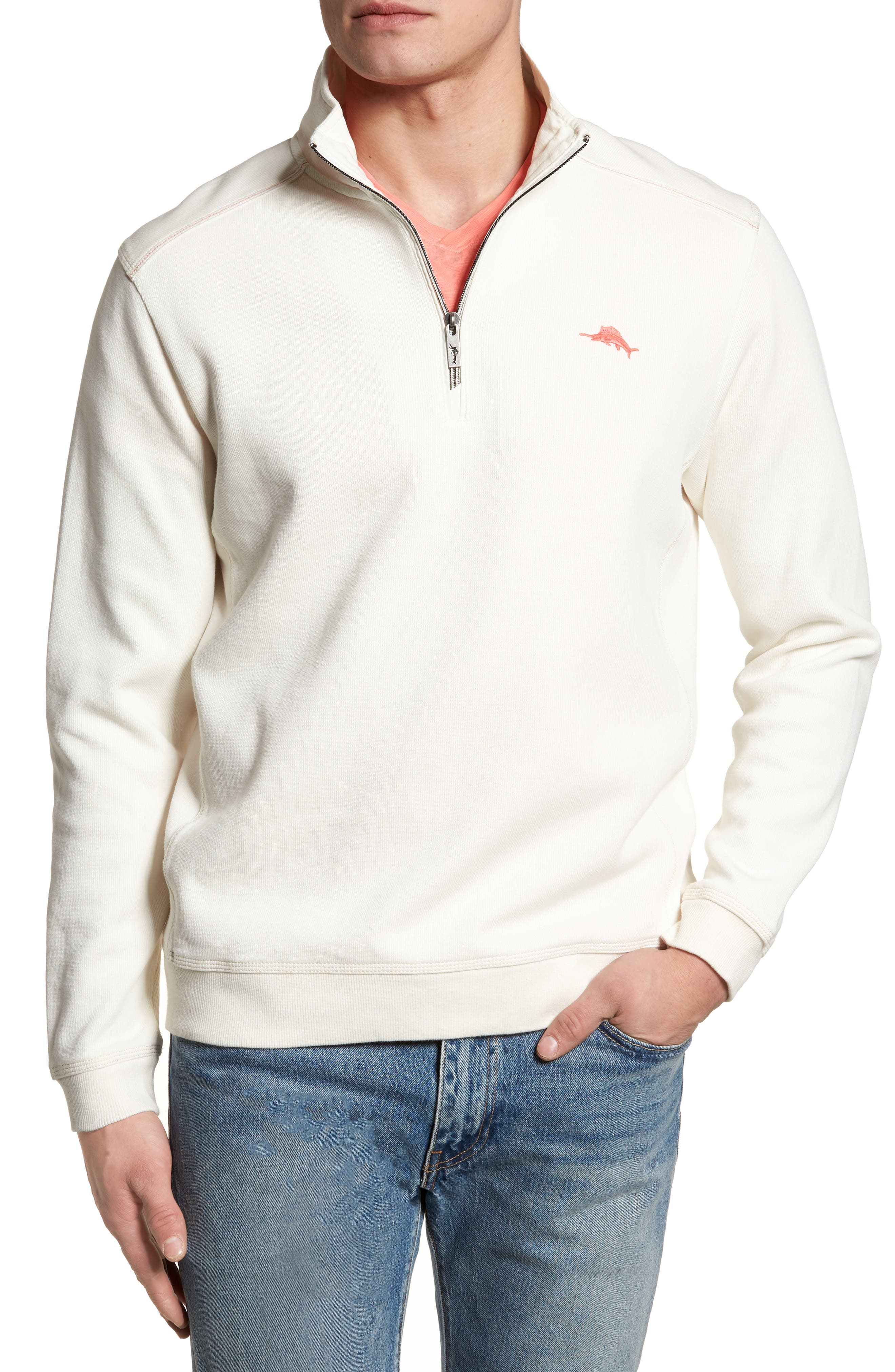 Tommy Bahama Nassau Quarter Zip Pullover