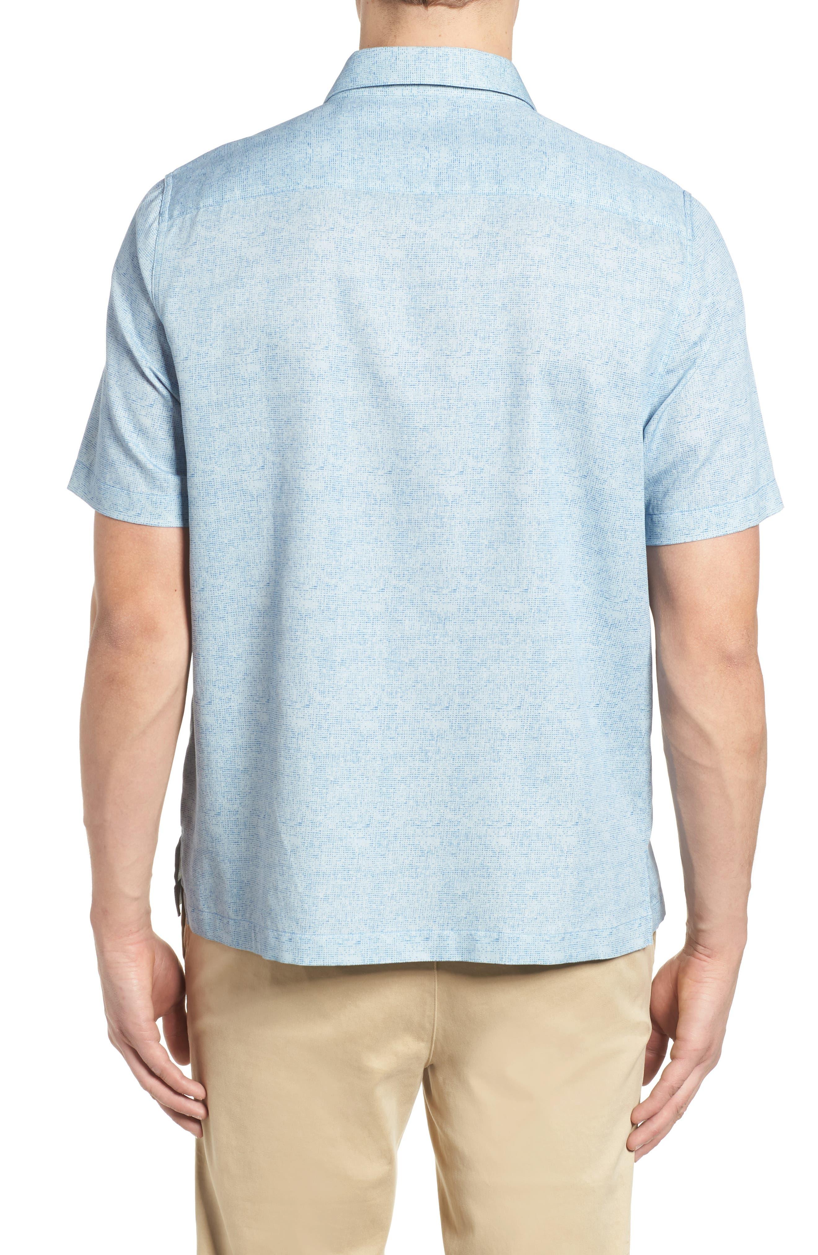 All Mixed Up Camp Shirt,                             Alternate thumbnail 2, color,                             Cornflower