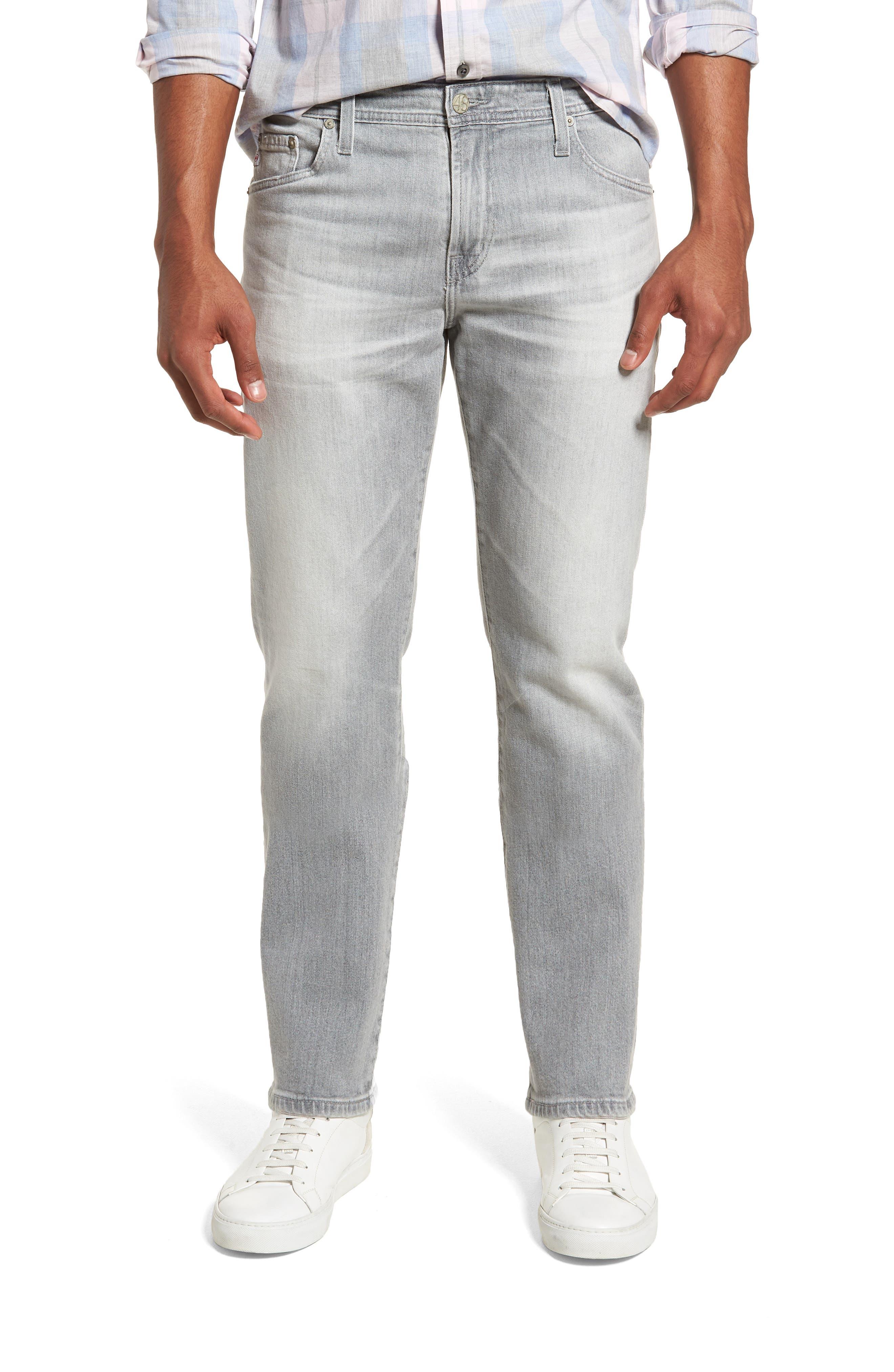 Graduate Slim Straight Leg Jeans,                         Main,                         color, 21 Years Outline