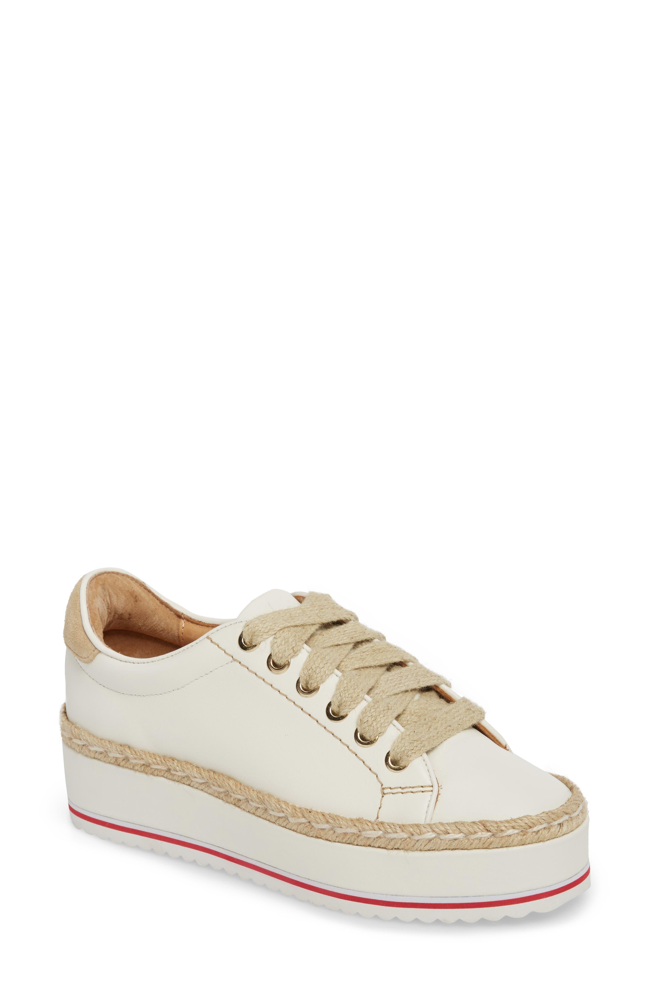 Alternate Image 1 Selected - Joie Dabnis Espadrille Platform Sneaker (Women)