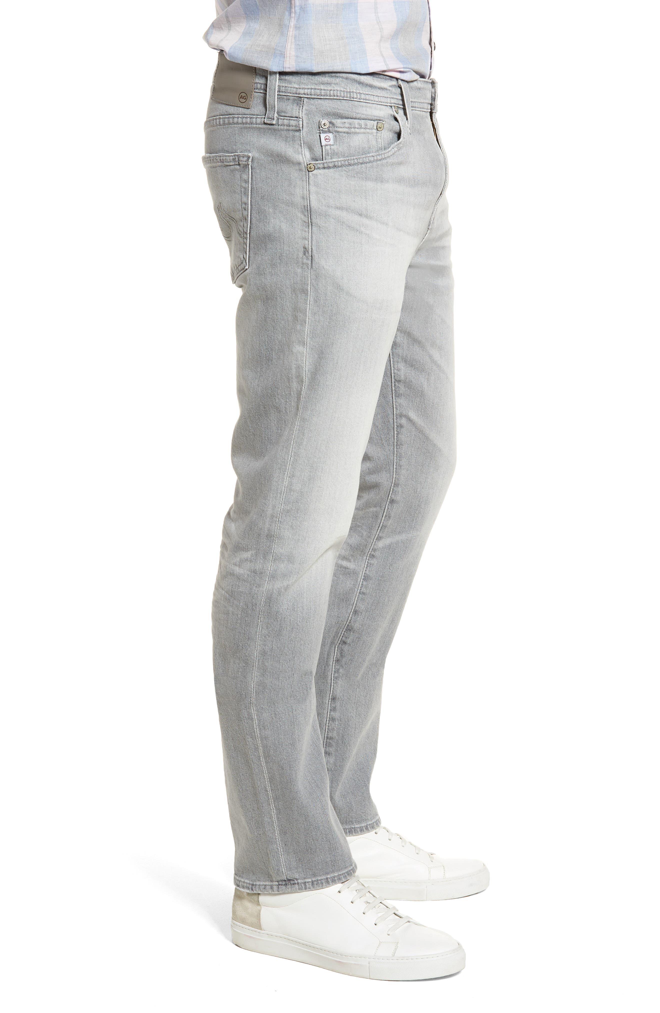 Graduate Slim Straight Leg Jeans,                             Alternate thumbnail 3, color,                             21 Years Outline