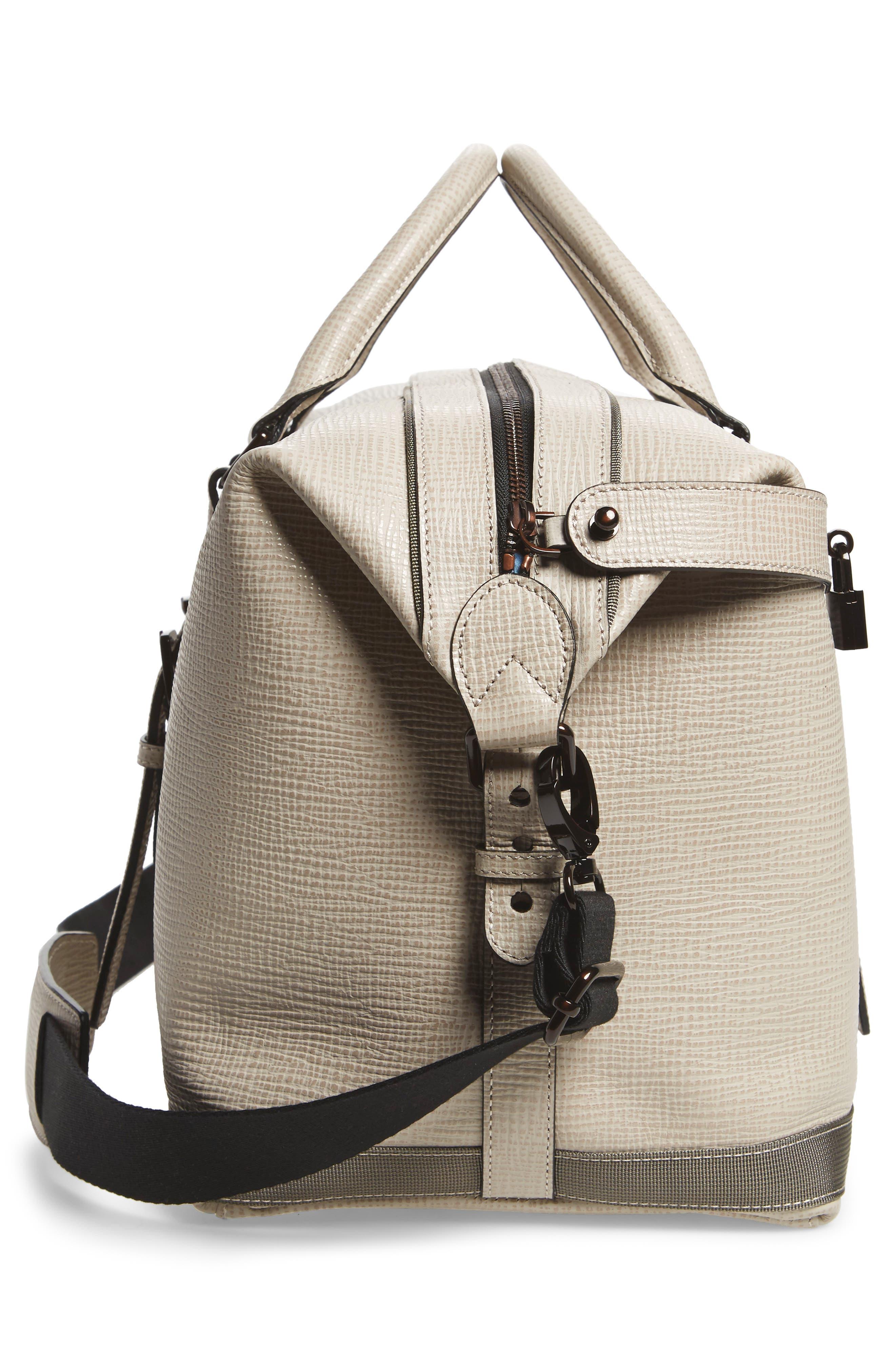 Ragmar Palmelato Holdall Duffel Bag,                             Alternate thumbnail 5, color,                             Natural