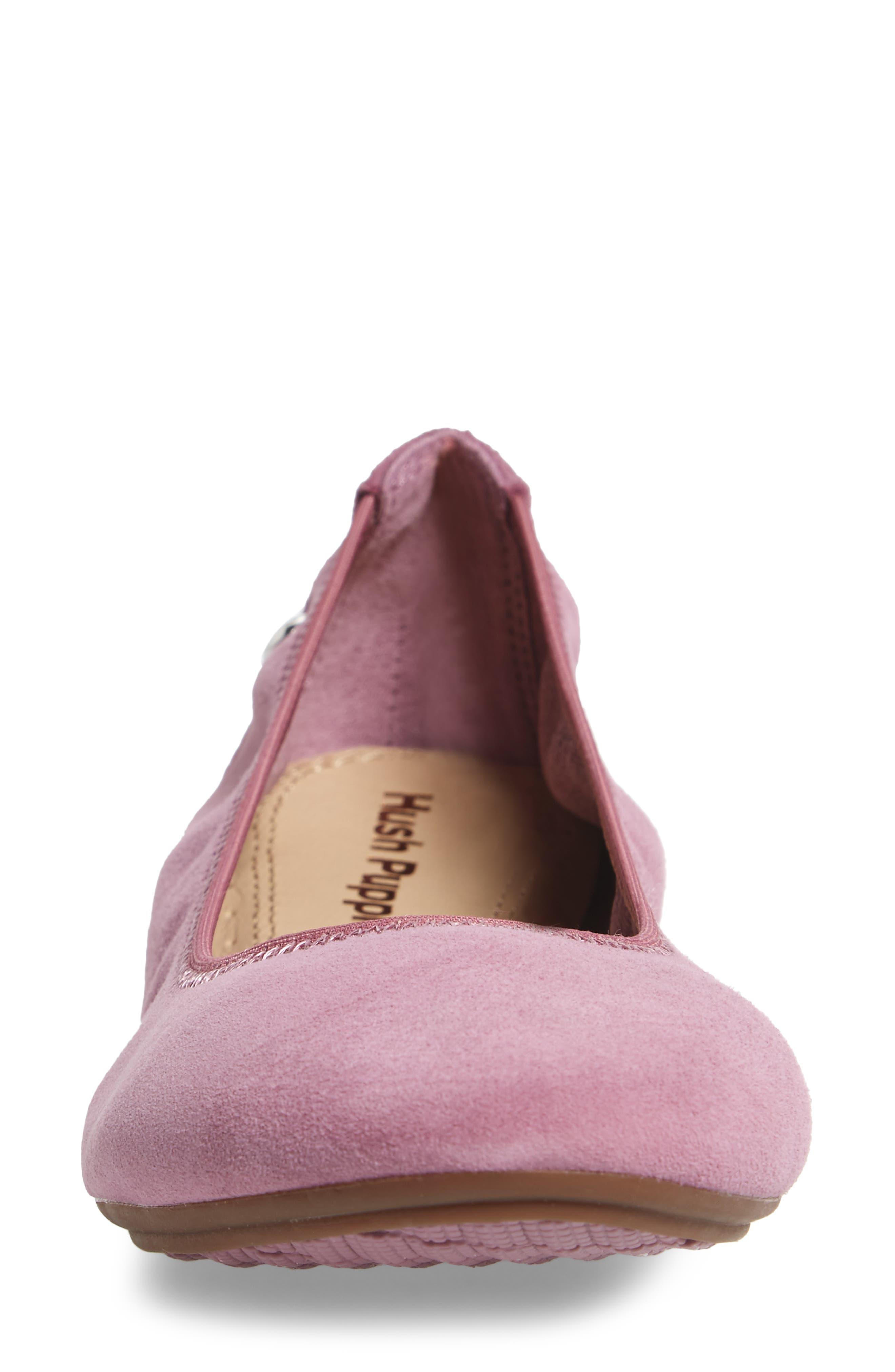 Alternate Image 4  - Hush Puppies® 'Chaste' Ballet Flat (Women)