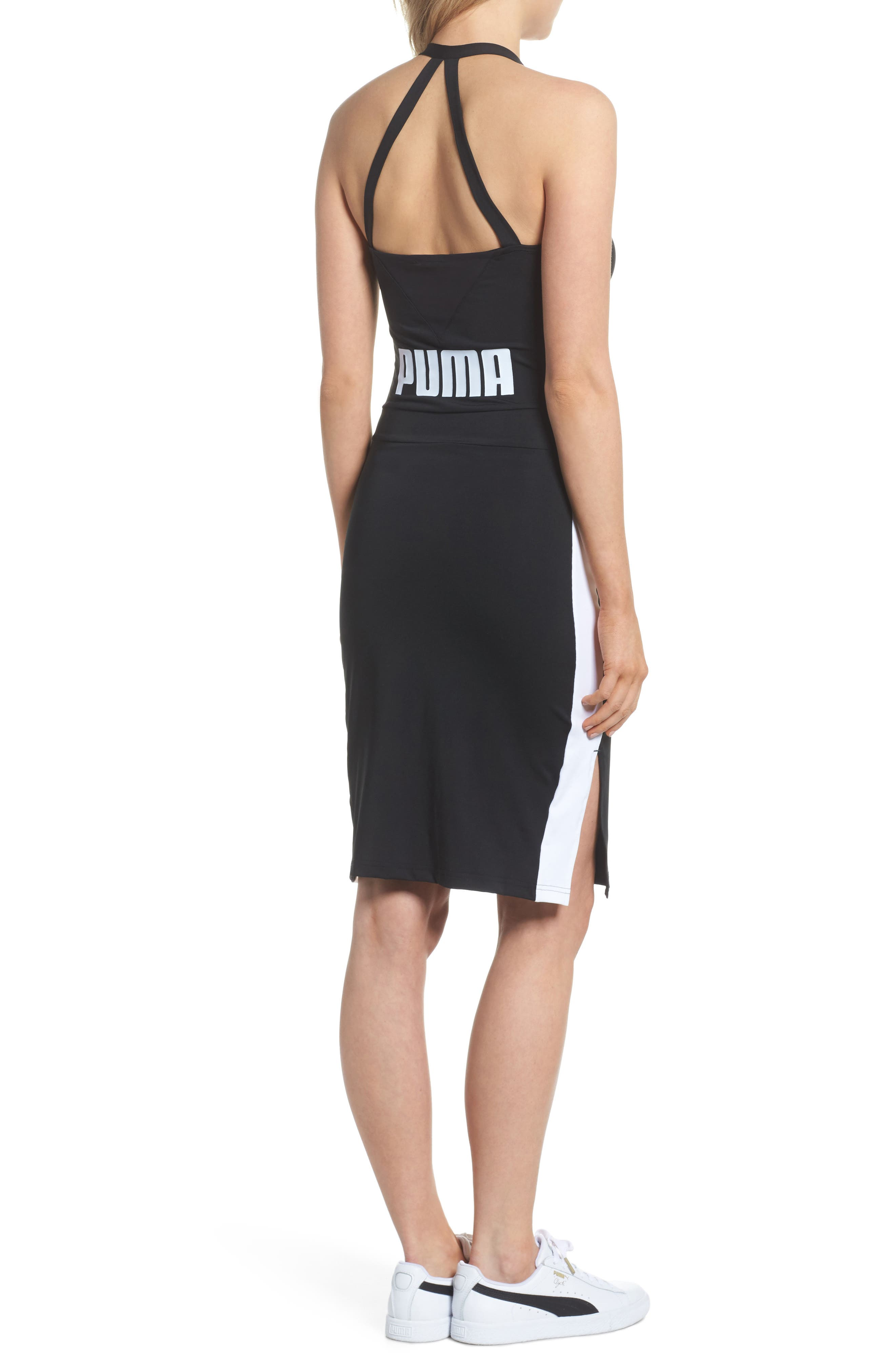 Archive T7 Dress,                             Alternate thumbnail 2, color,                             Puma Black
