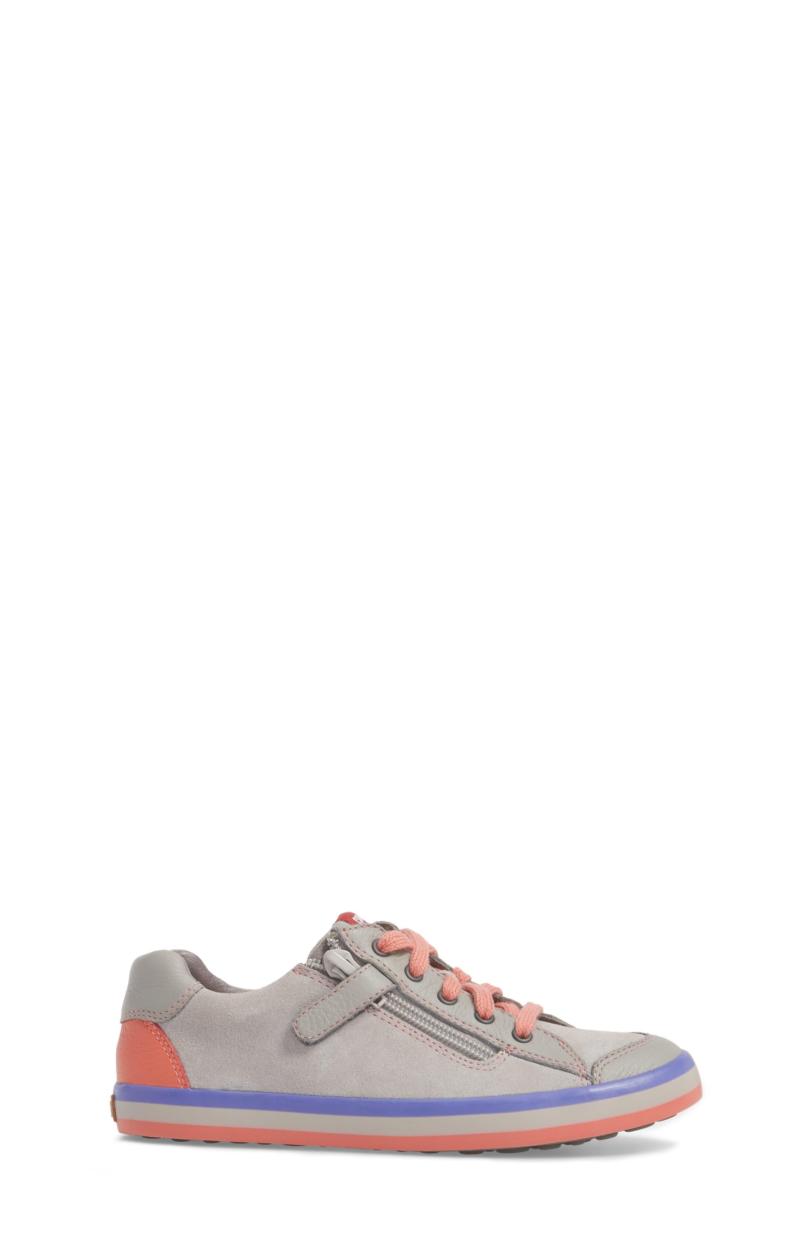 Pursuit Sneaker,                             Alternate thumbnail 3, color,                             Light Grey
