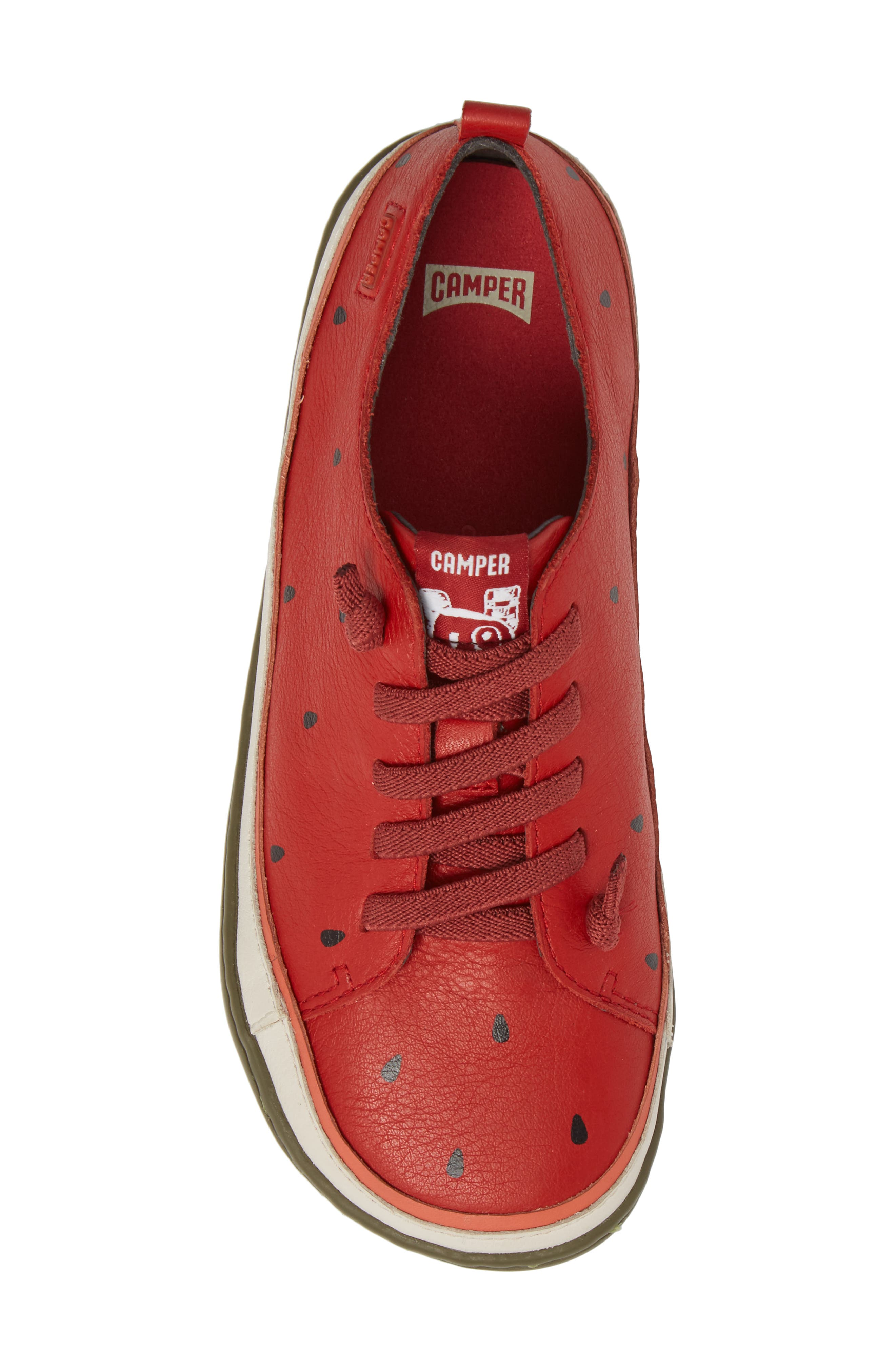 Twins Watermelon Sneaker,                             Alternate thumbnail 5, color,                             Red
