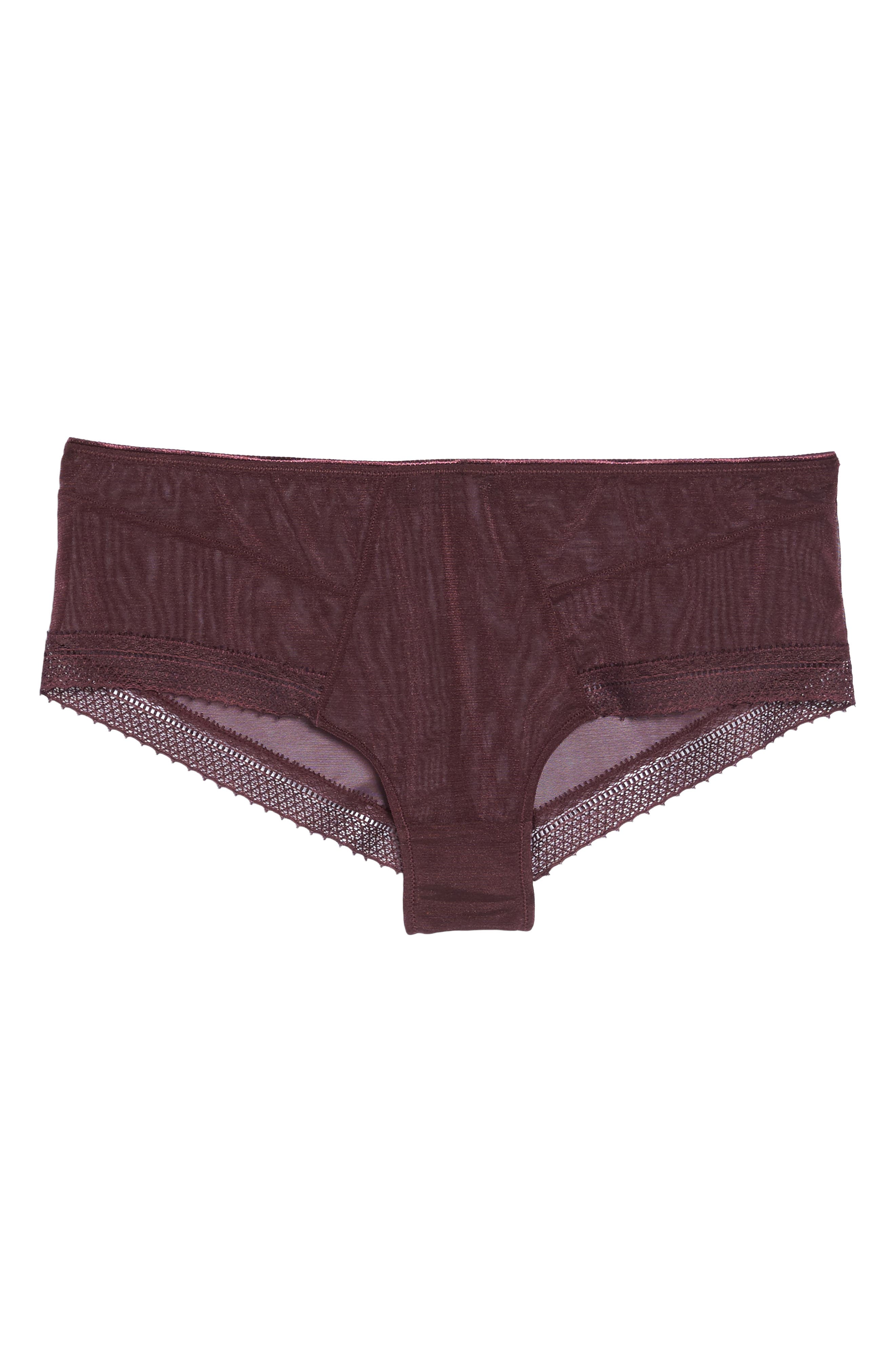 Jet Set Hipster Panties,                             Alternate thumbnail 10, color,                             Garnet