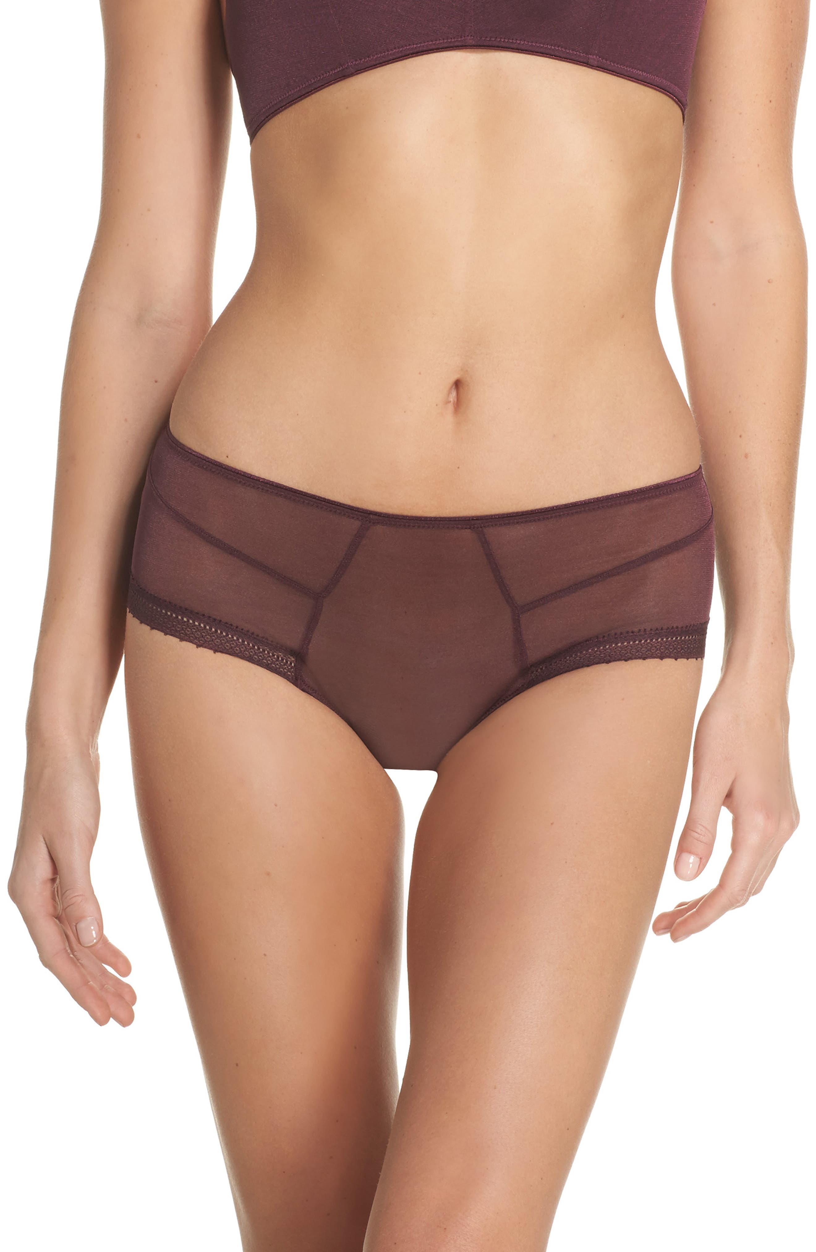 Jet Set Hipster Panties,                         Main,                         color, Garnet