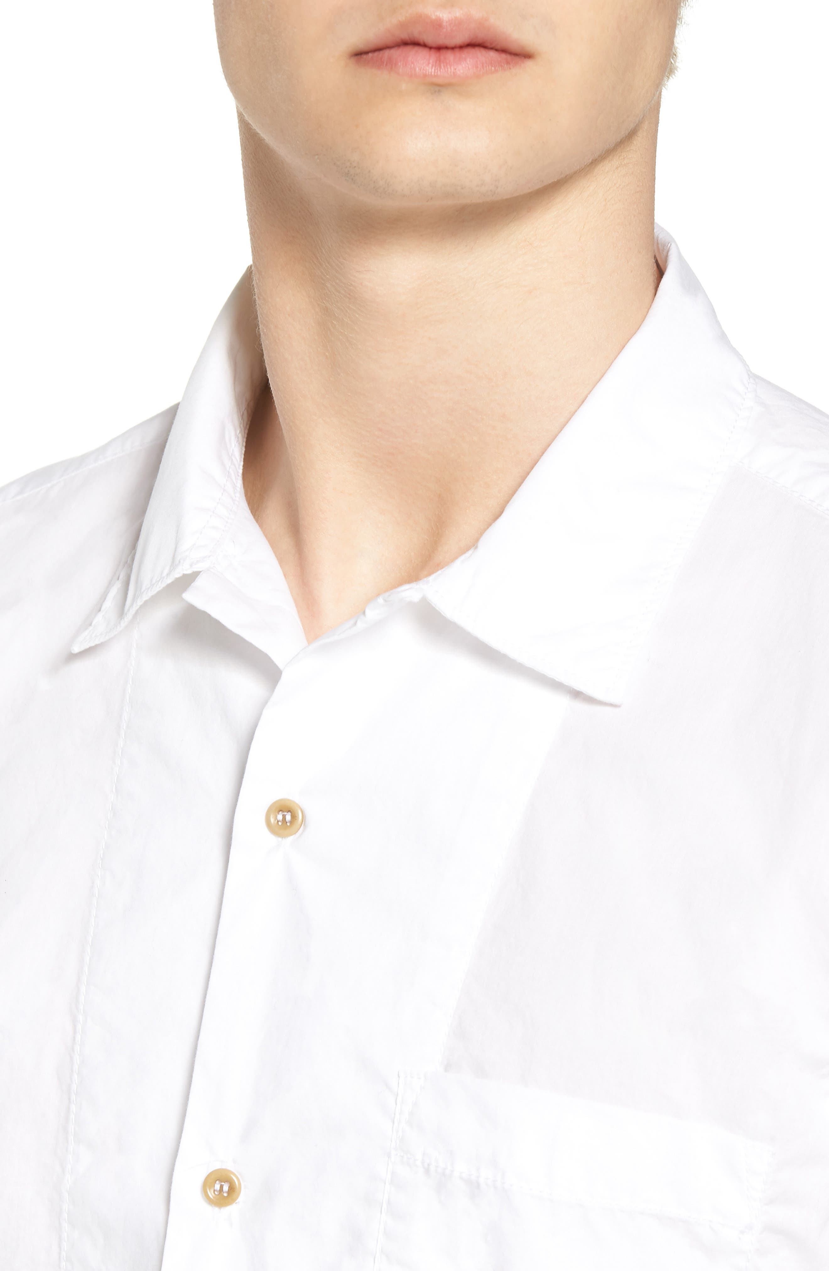 Alternate Image 2  - French Connection Slim Fit Solid Sport Shirt