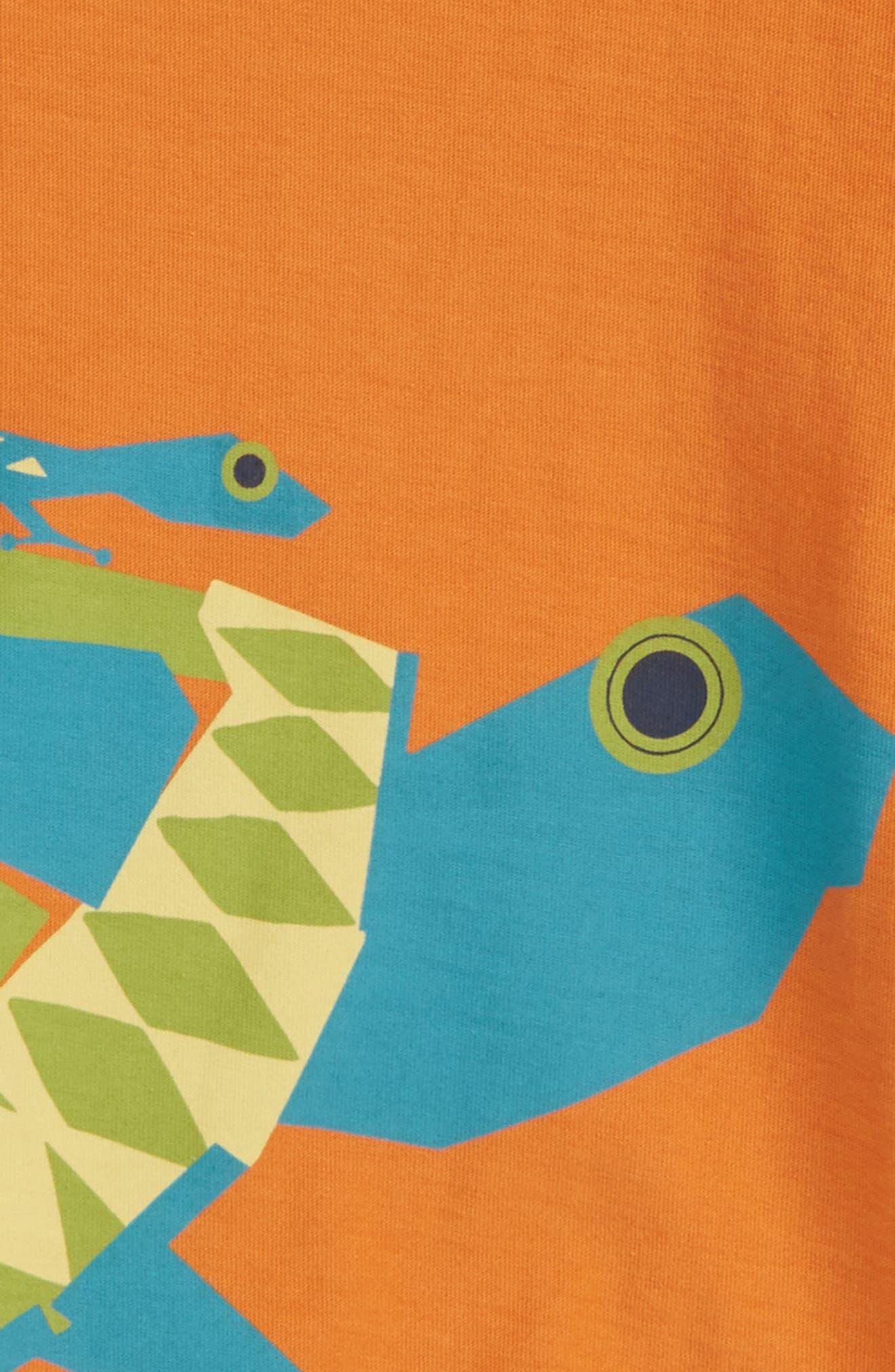 Tortoise T-Shirt,                             Alternate thumbnail 2, color,                             Papaya